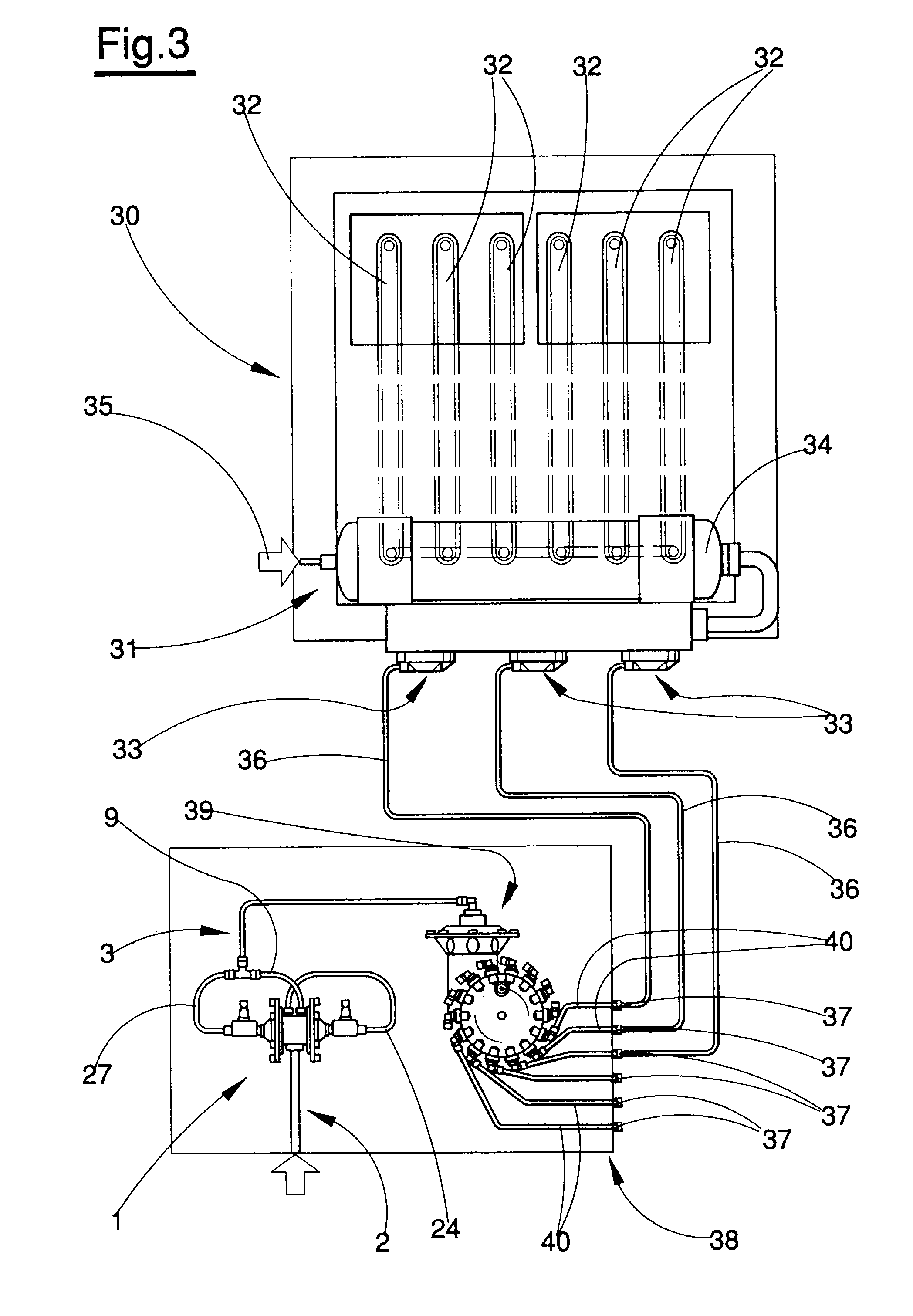 patent ep0972949a1 - a pneumatic pulse generator