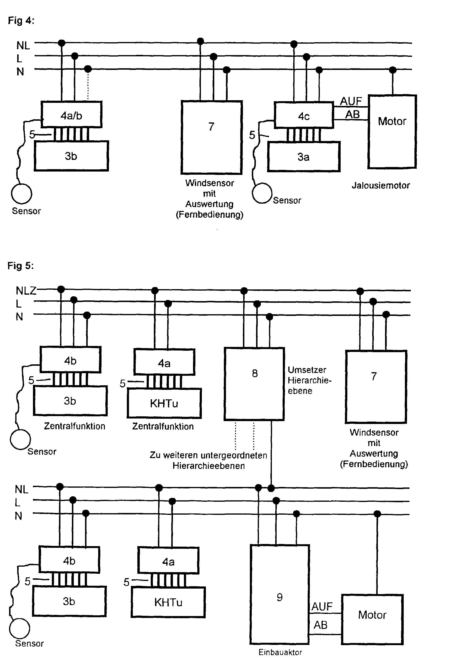 patent ep0993094a2 elektrisches installationssystem. Black Bedroom Furniture Sets. Home Design Ideas