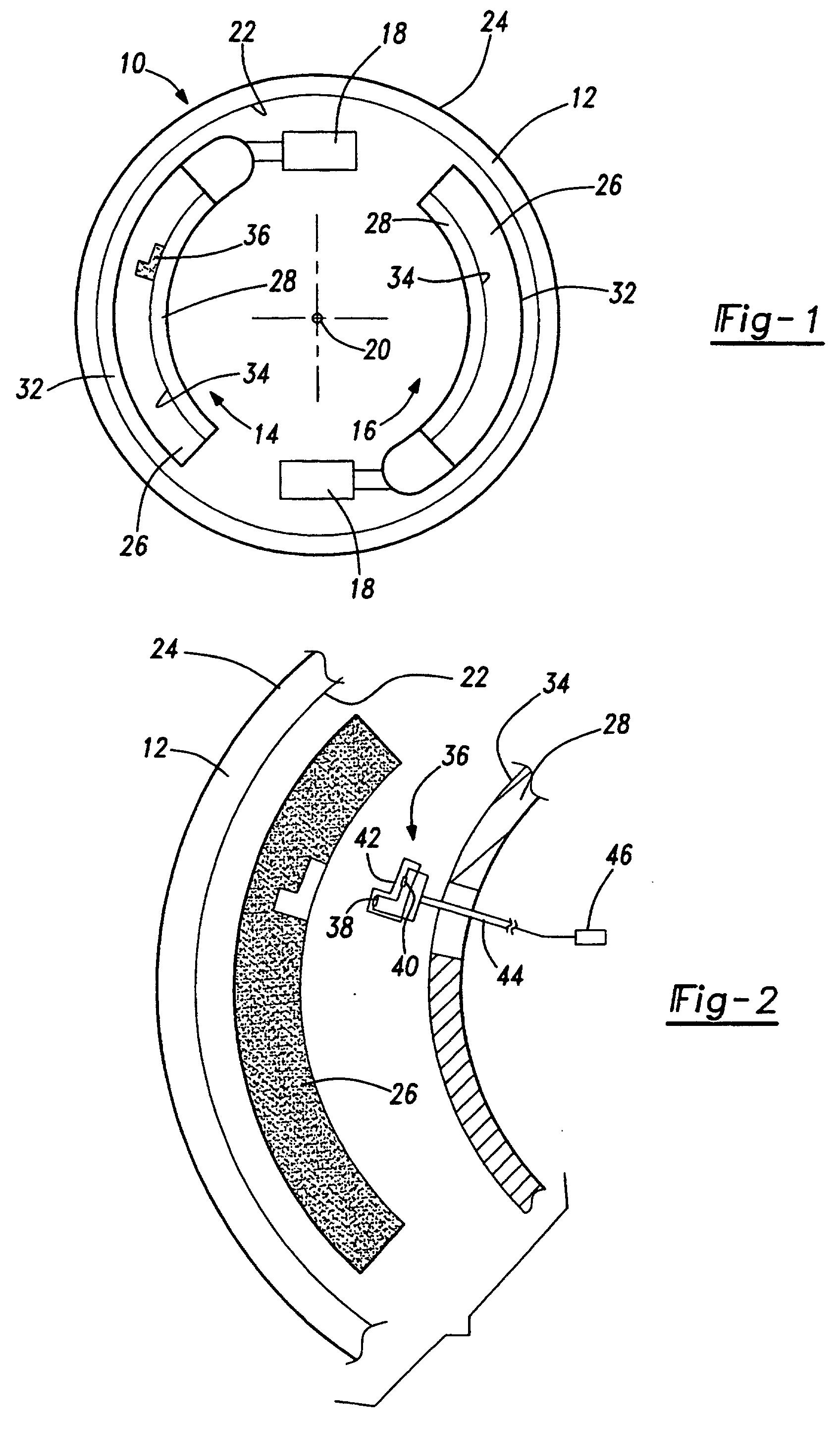 Brake Lining Draw : Patent ep b temperature sensing brake lining wear