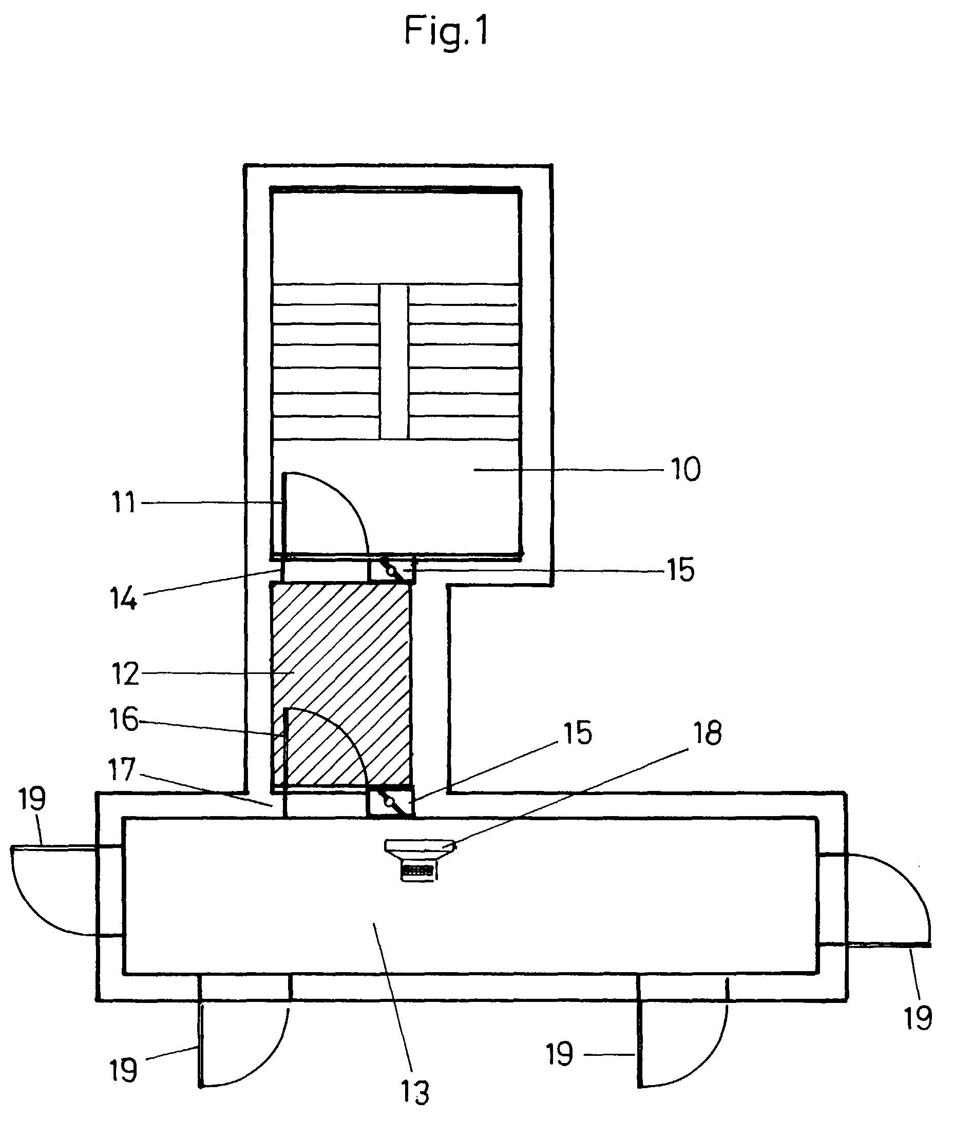 patent ep0995955a2 rauchschutzeinrichtung f r treppenr ume oder dergleichen google patents. Black Bedroom Furniture Sets. Home Design Ideas