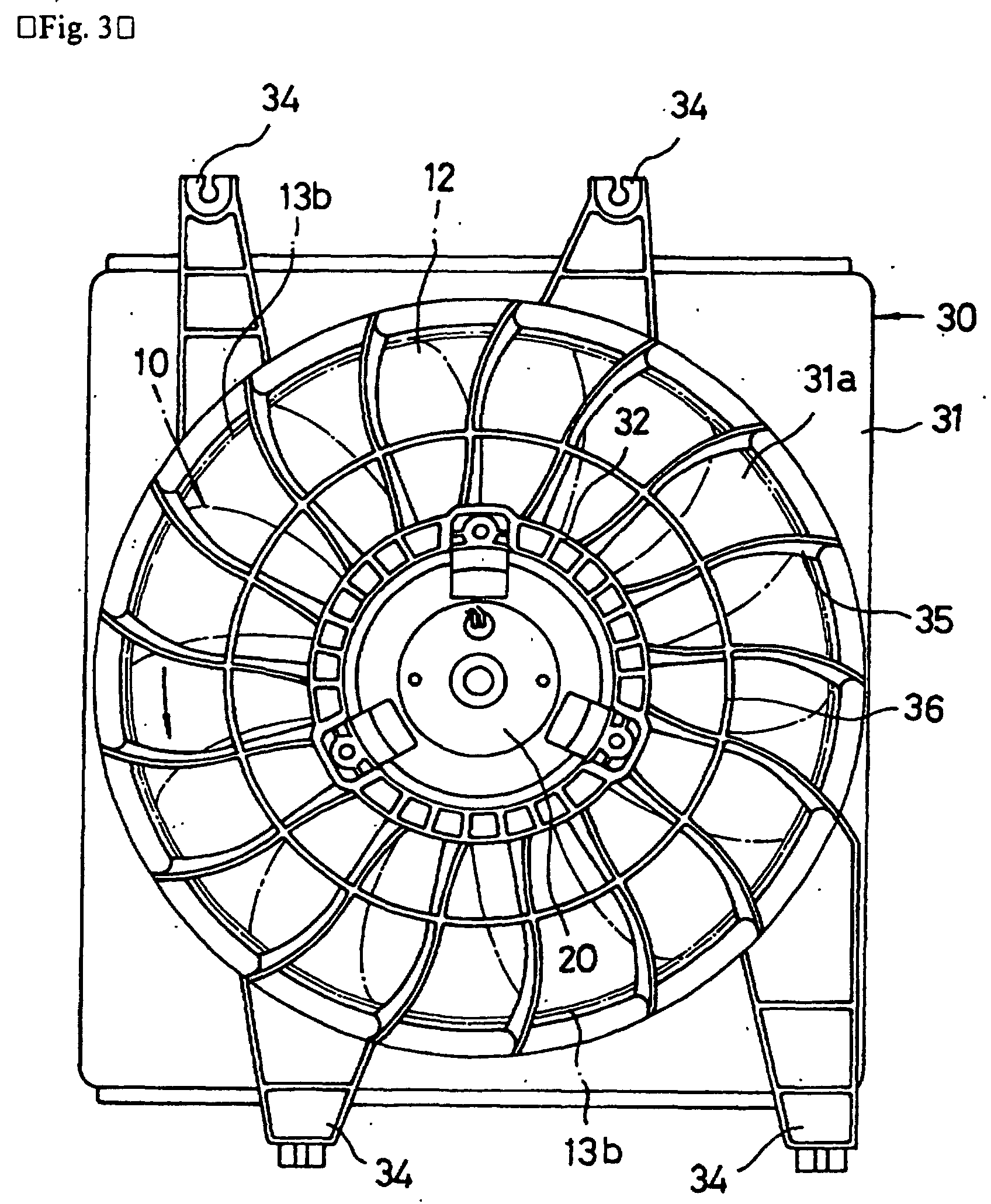 Patent EP1016790B1 Stator for axial flow fan   Patents #353535