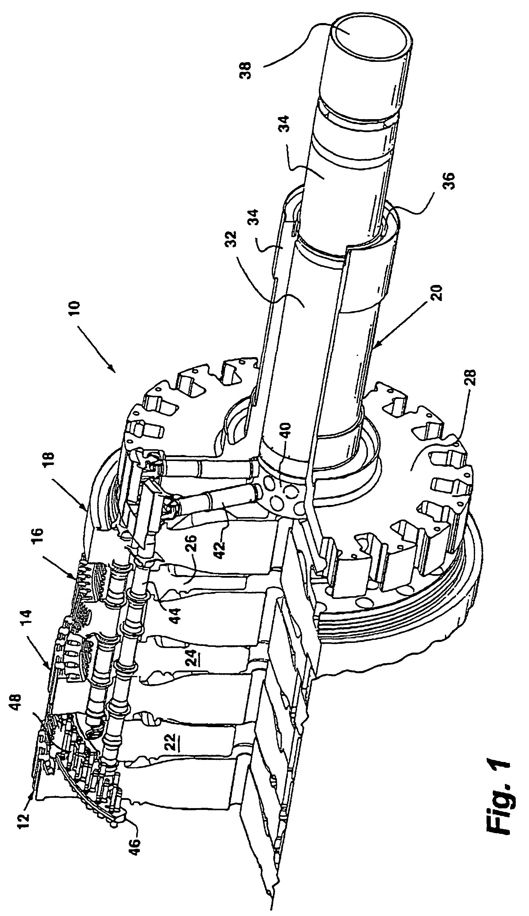 Patente EP B1 Debris trap in a turbine cooling system