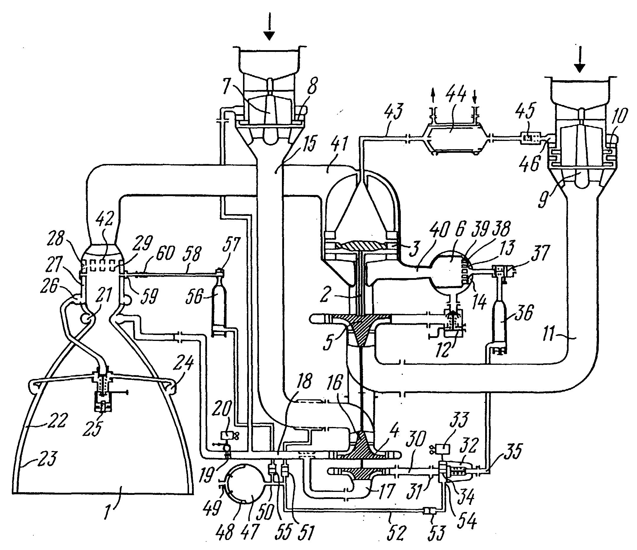 Patent EP1022454A2 Liquid propellant rocket engine Google Patents – Diagram Of Rocket Engine