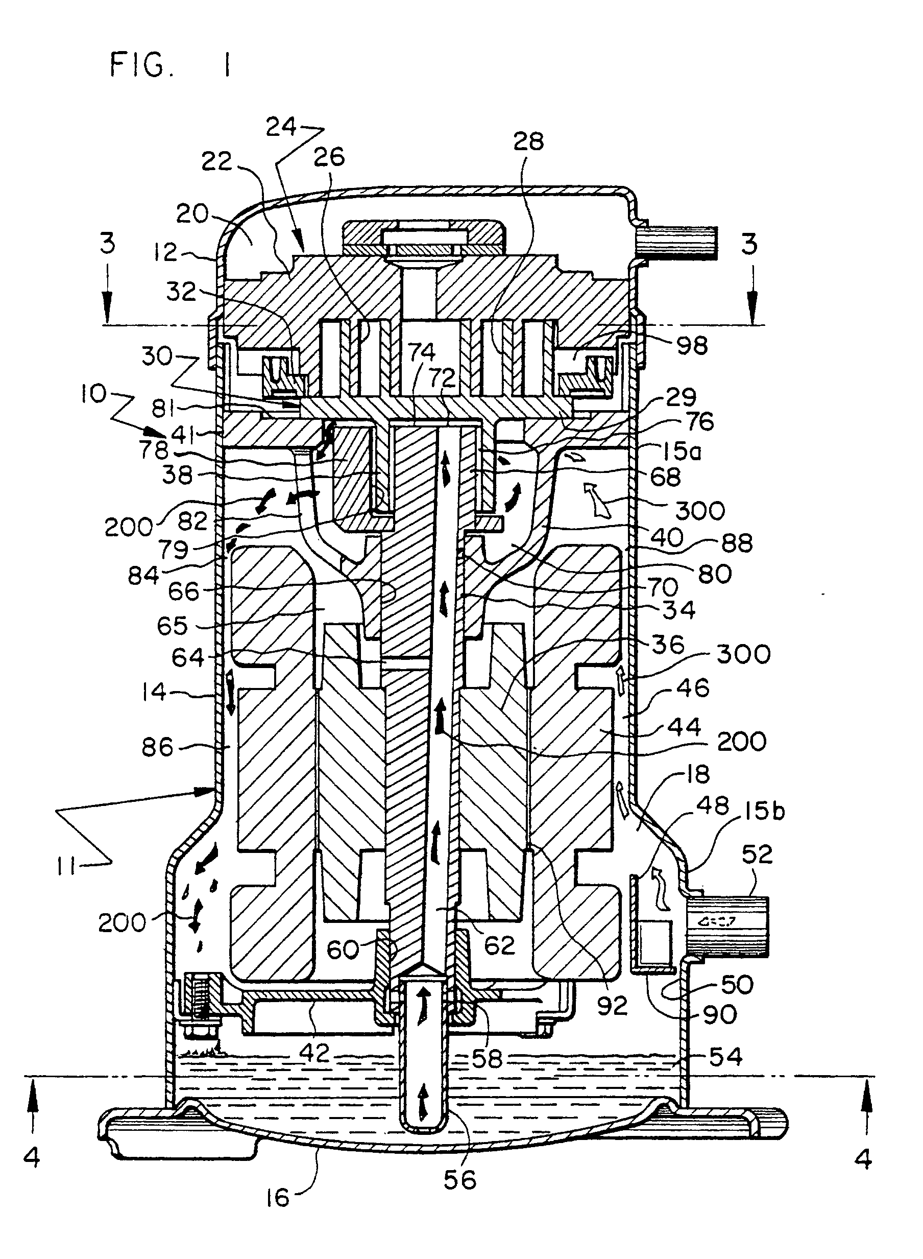 patent ep1029179b1 - hermetic scroll compressor