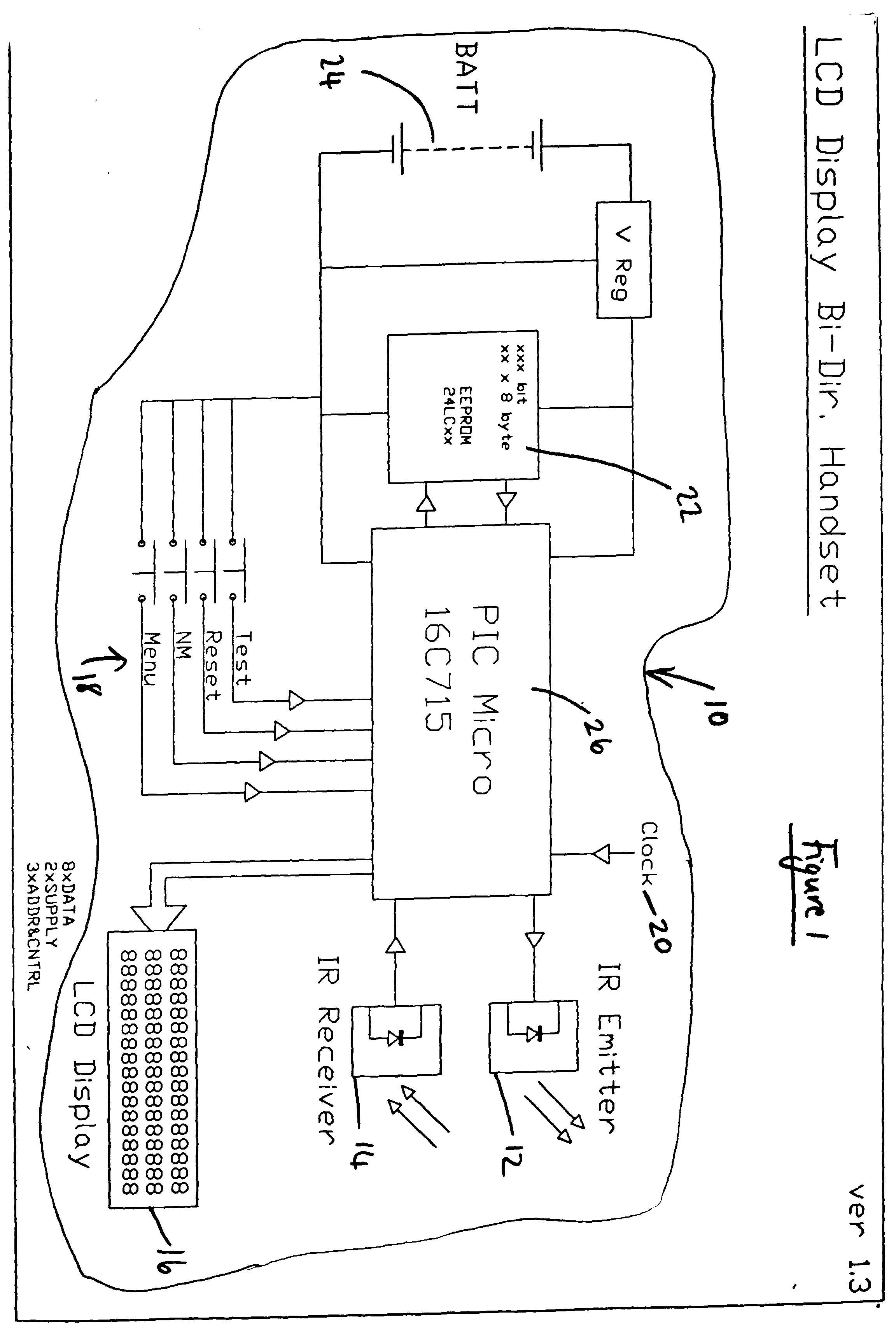 00160001 patent ep1035628a1 improvements relating to emergency lighting emergency exit light wiring diagram at fashall.co