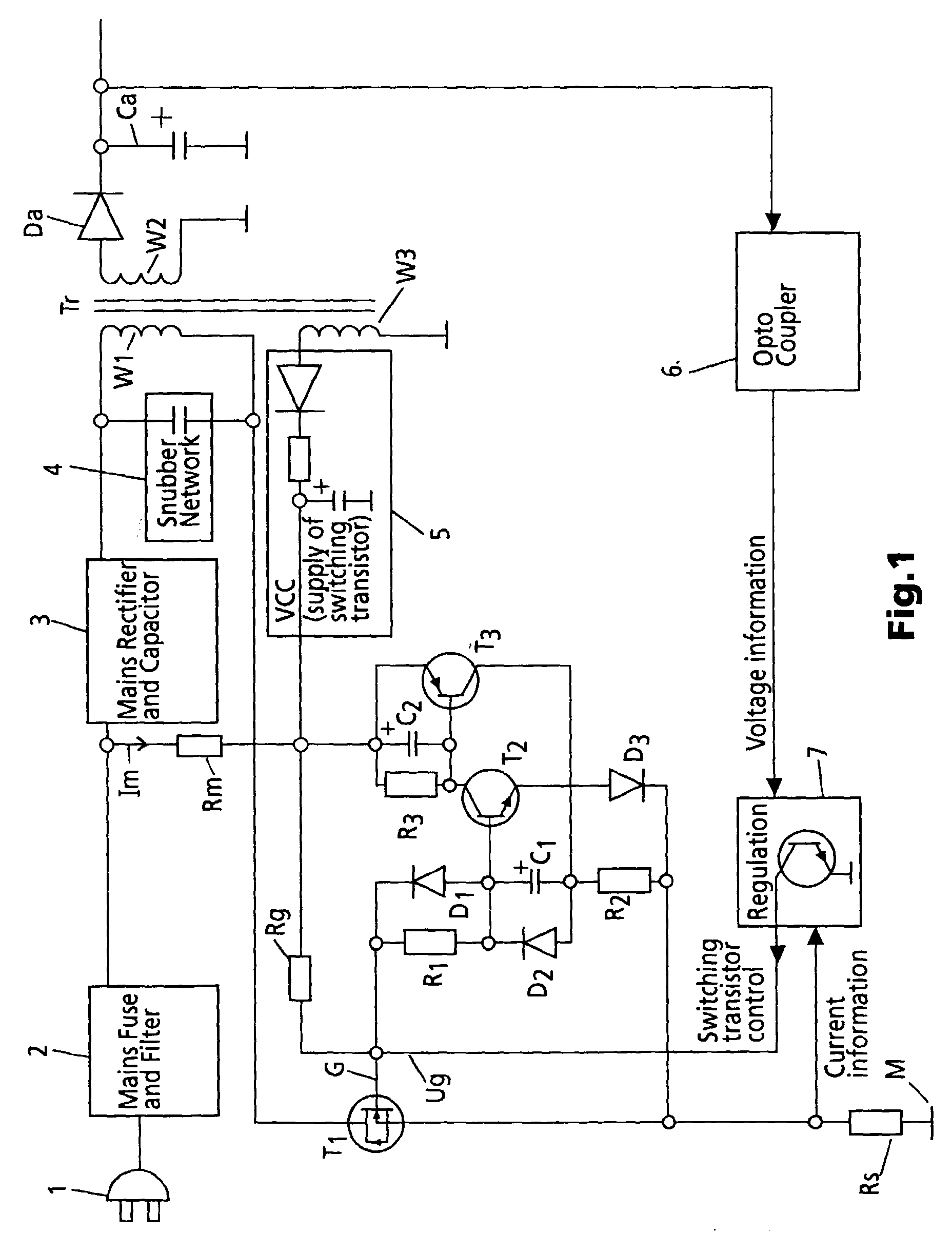 专利ep1058373a1 - schutzschaltung