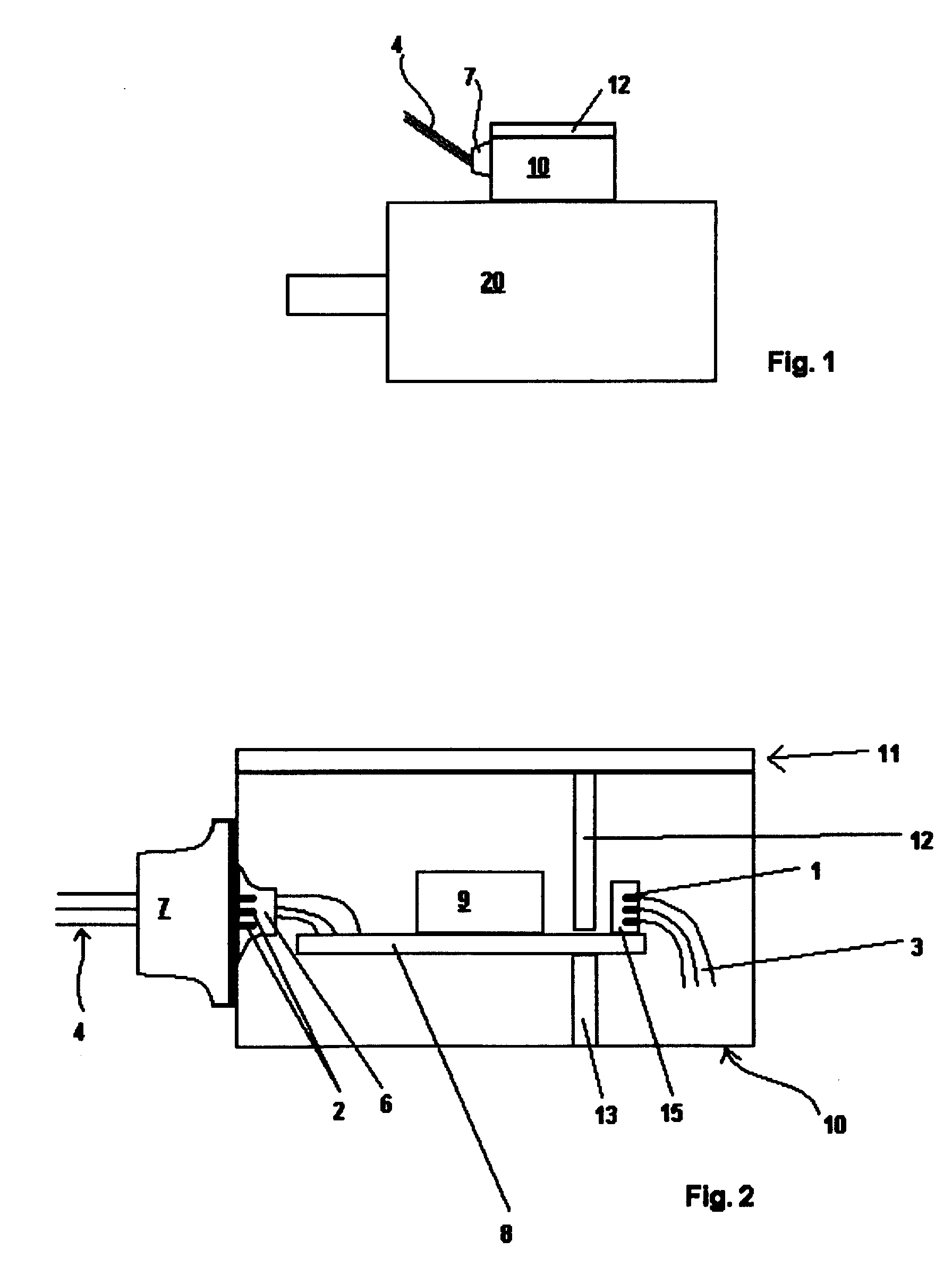 Patent ep1059723a1 connection unit for an electric motor for Electric motor connection box