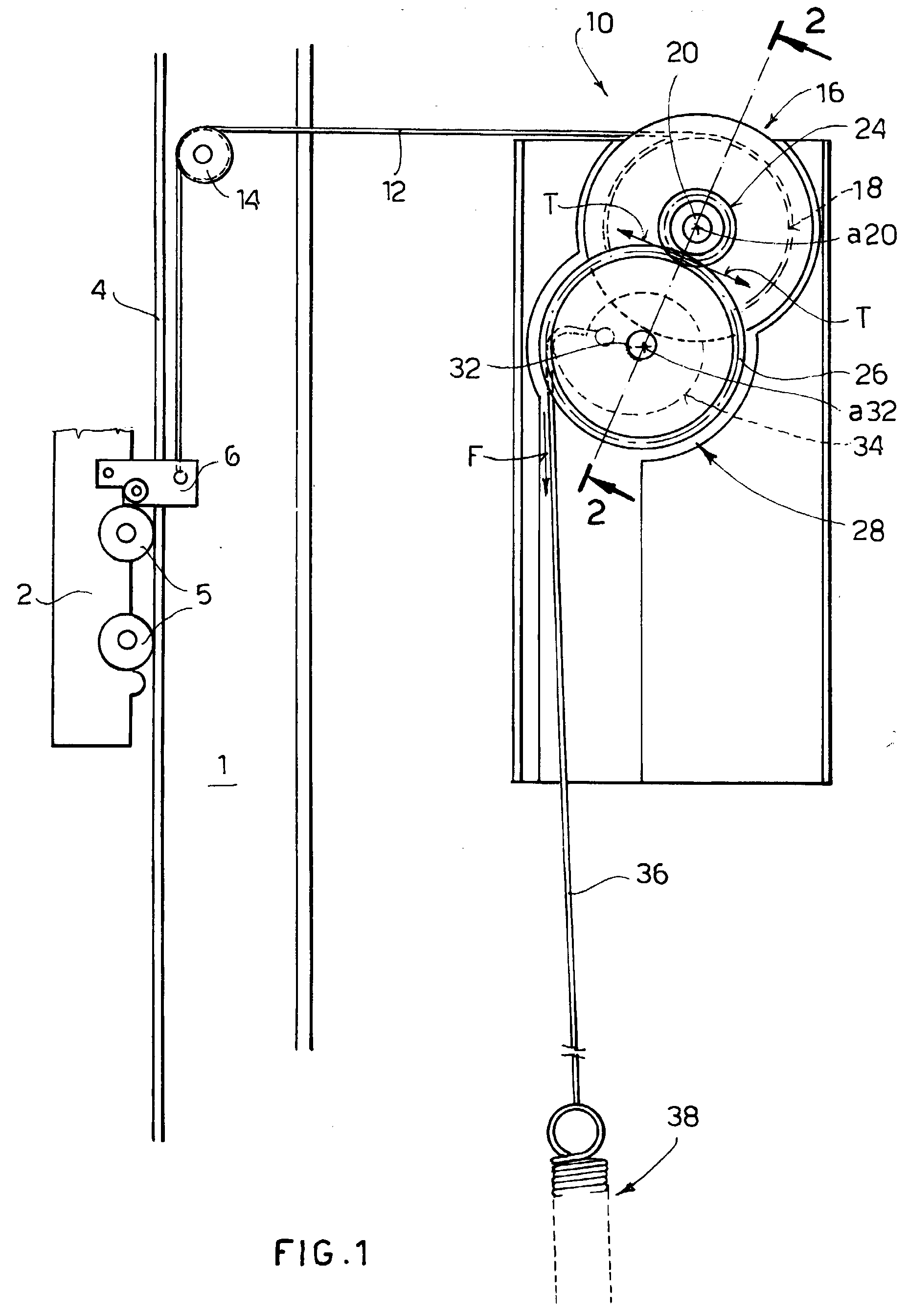 Patent ep1074686a2 a movement and balancing mechanism for Sliding door mechanism