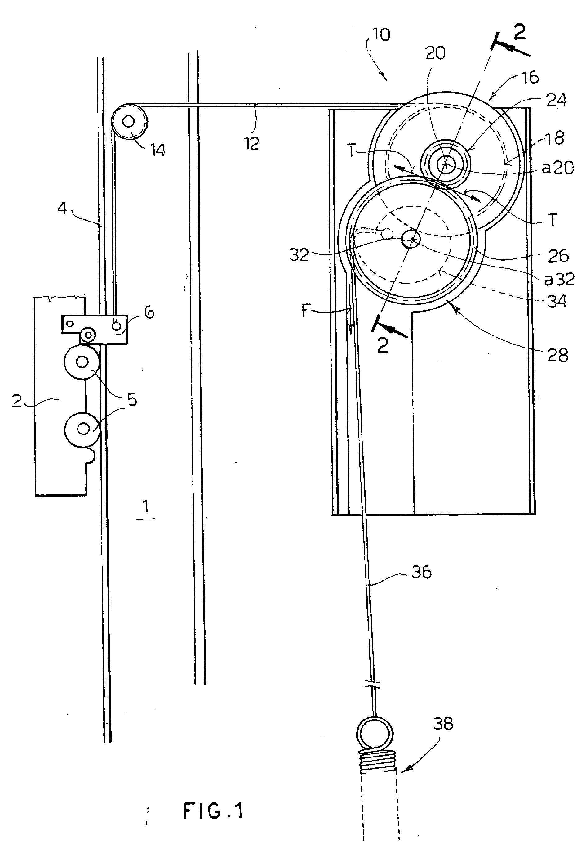 Counterweight Door Mechanism Amp Vertical Sliding Door