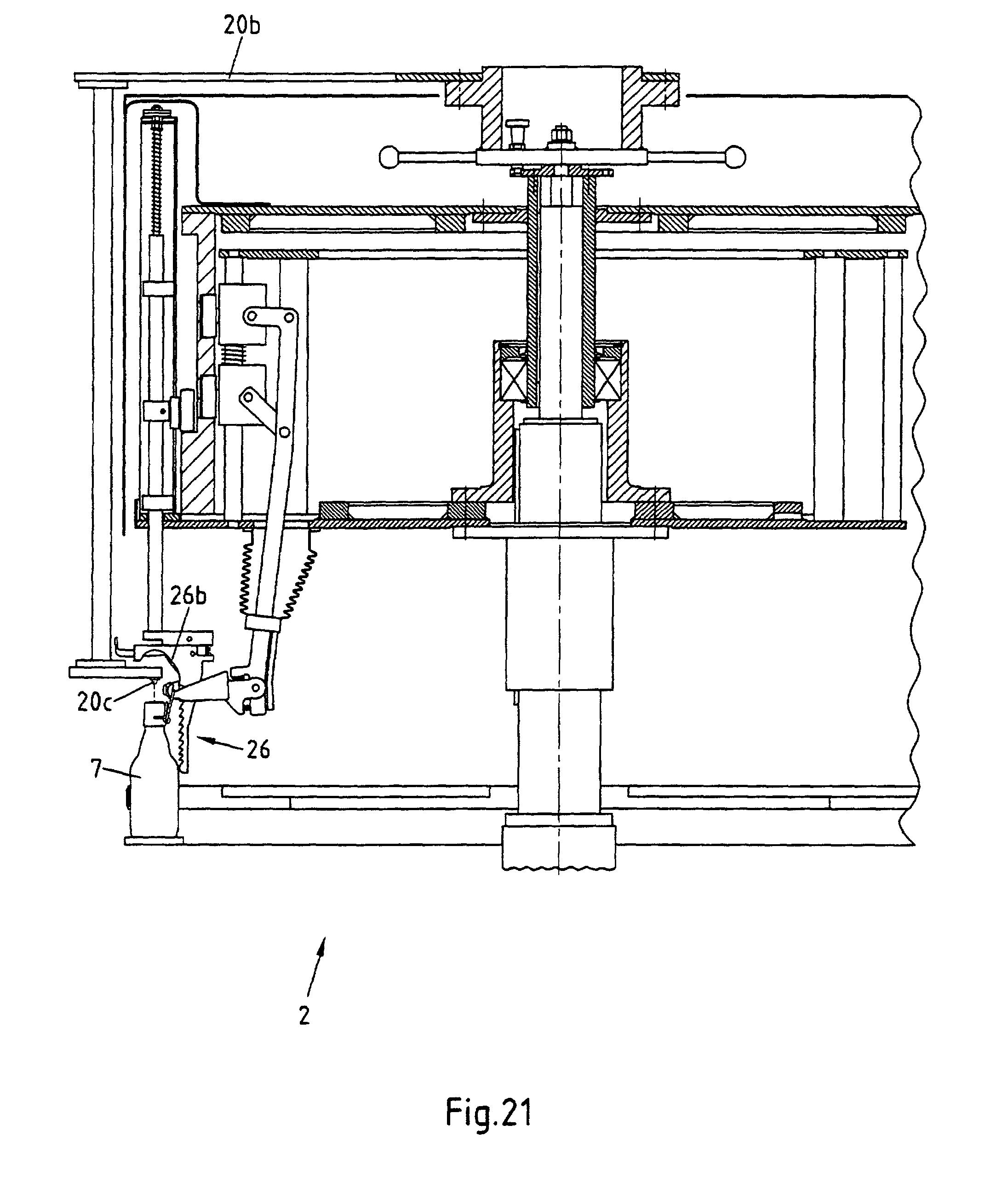 patent ep1081090b1 vorrichtung zum verschliessen von. Black Bedroom Furniture Sets. Home Design Ideas