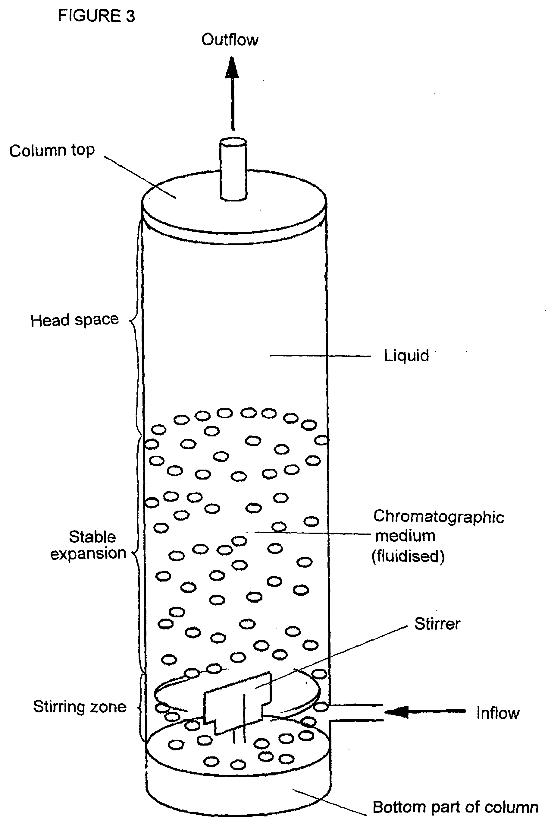 Patent EP1087828B1 - Expanded bed adsorption system ...
