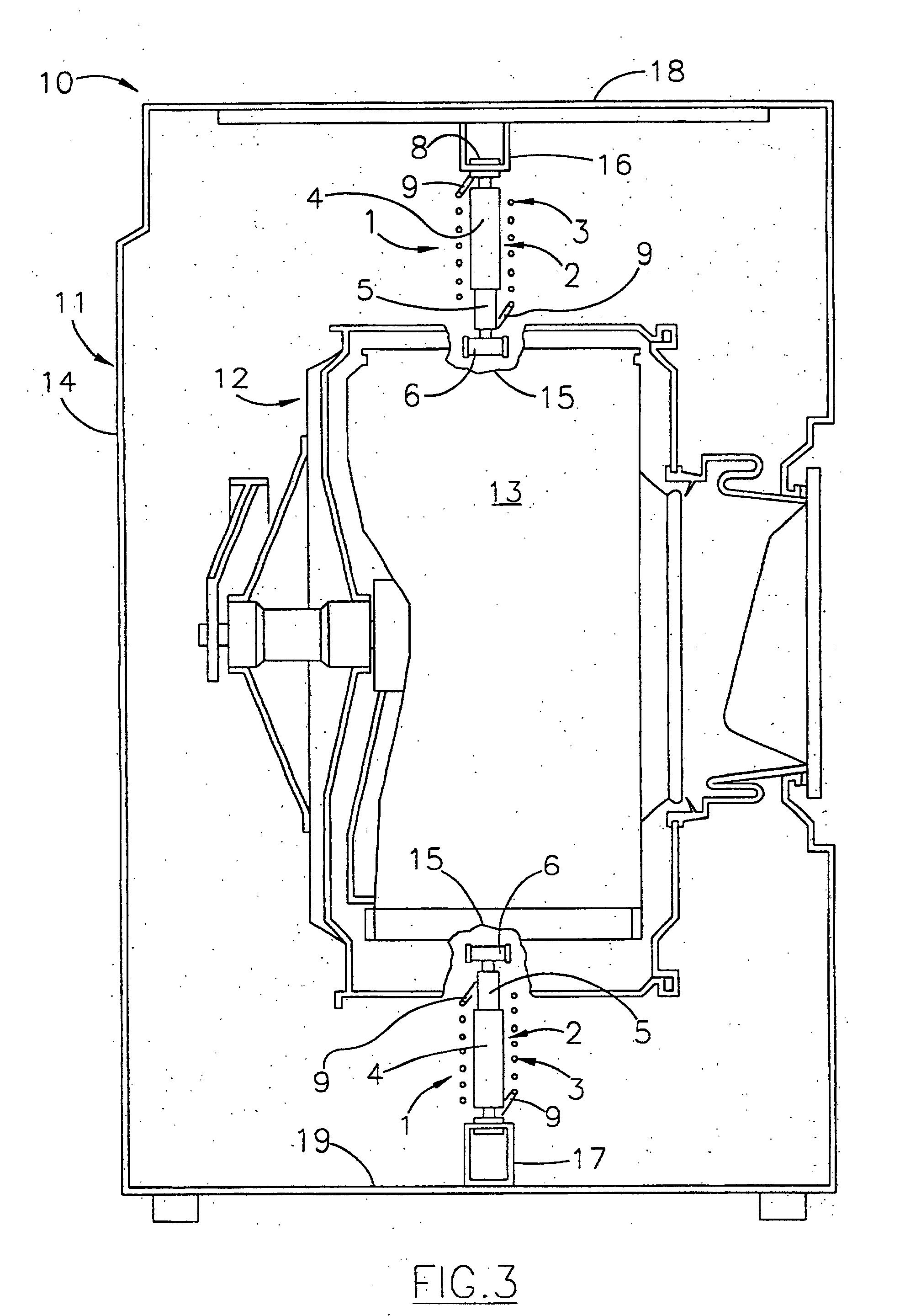 patent ep1094142b1 vorrichtung zum aufh ngung des laugenbeh lters einer waschmaschine google. Black Bedroom Furniture Sets. Home Design Ideas