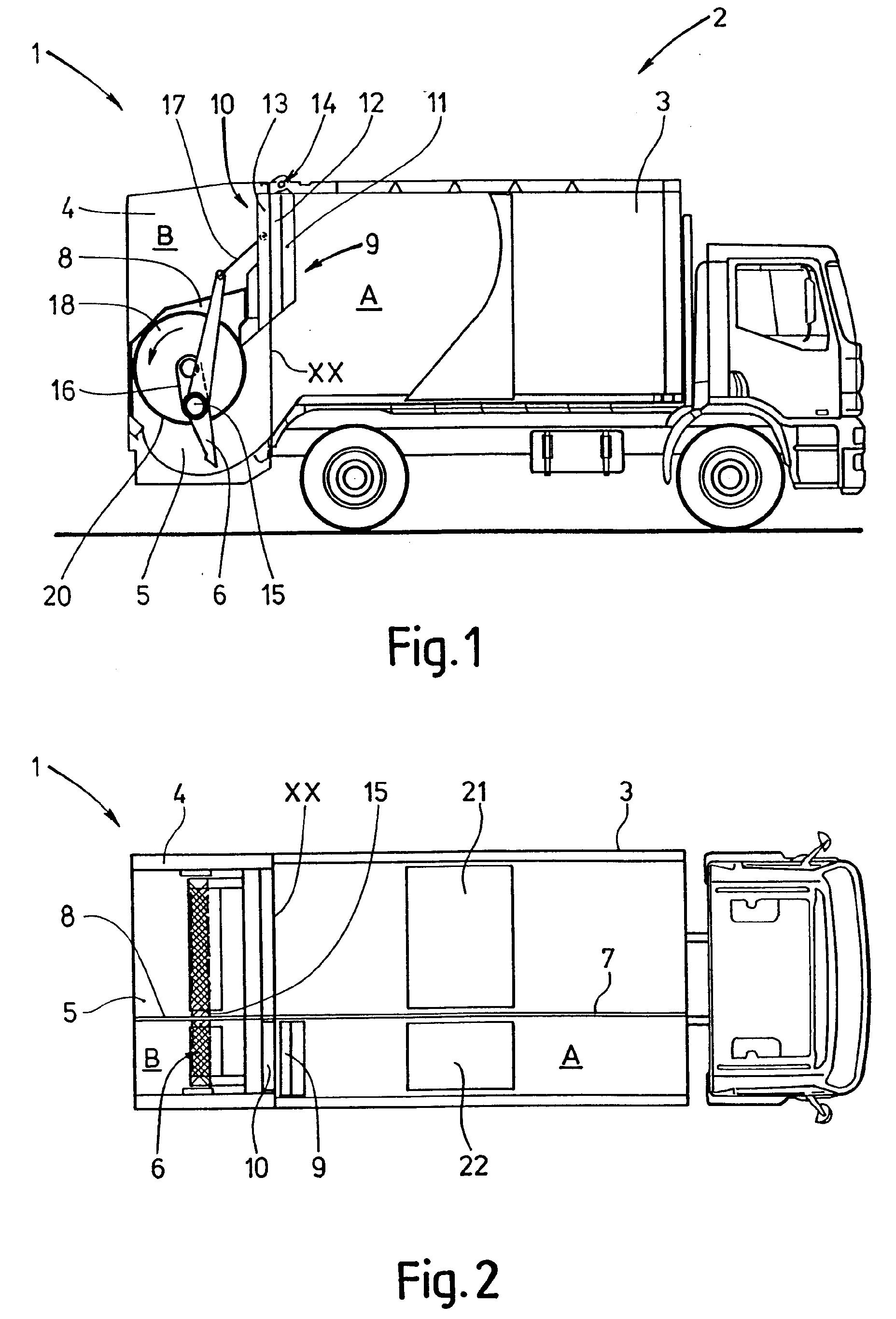 Patent ep1097884a1 dispositif de collecte et de - Poubelle deux compartiments ...
