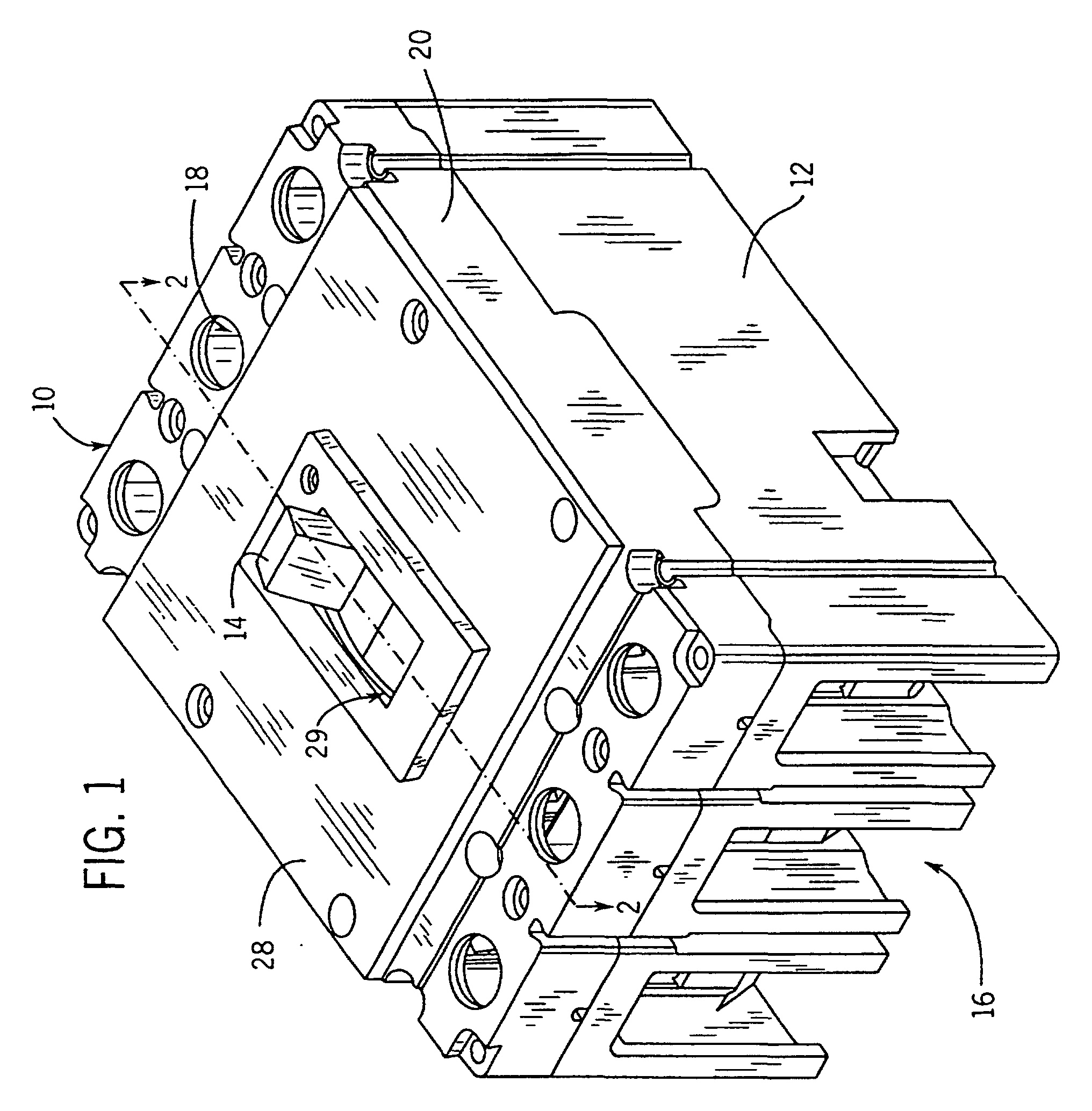 patent ep1098344b1 - shunt trip device for a molded case circuit breaker