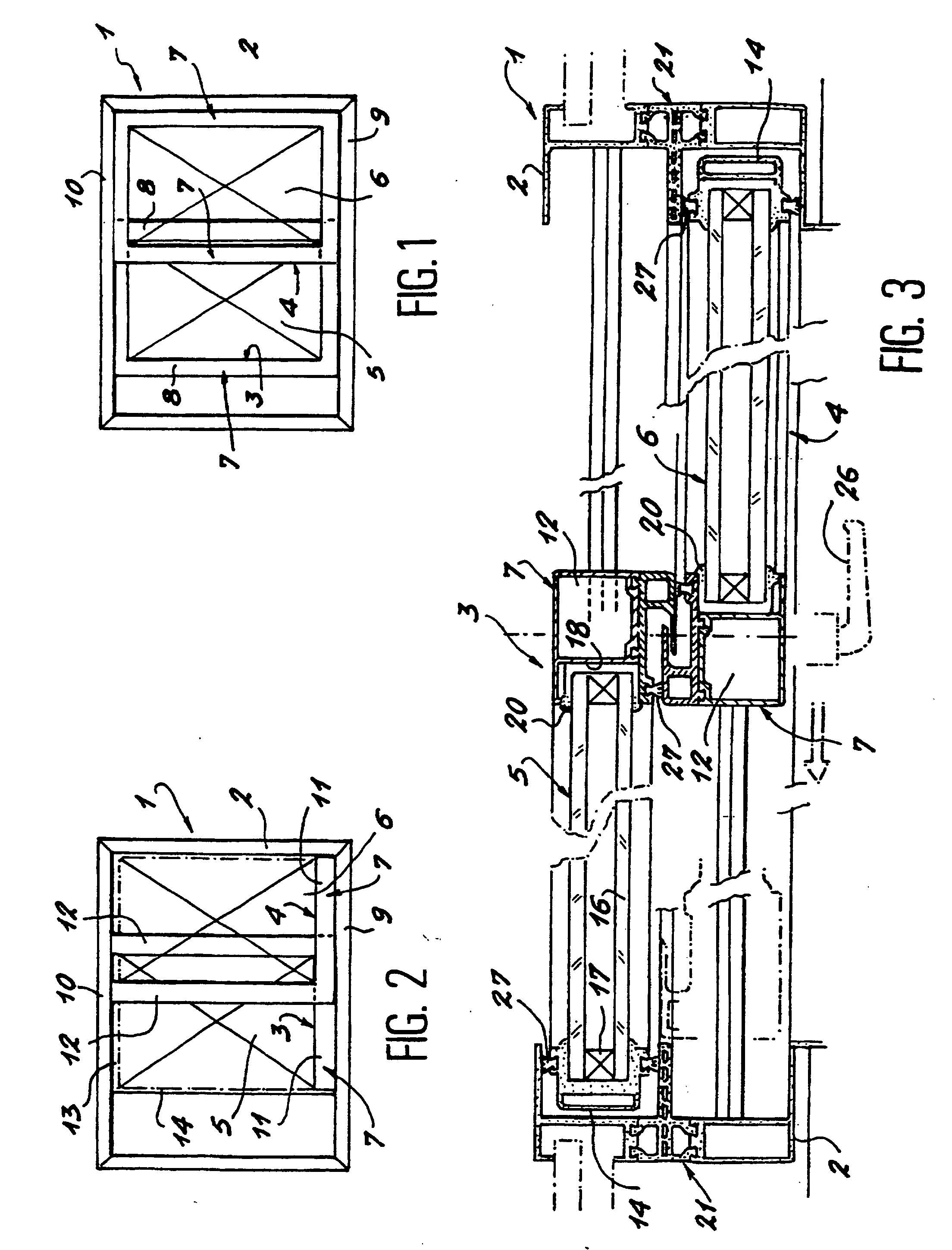 Patent ep1101894b1 chassis de porte ou fen tre for Fenetre plan