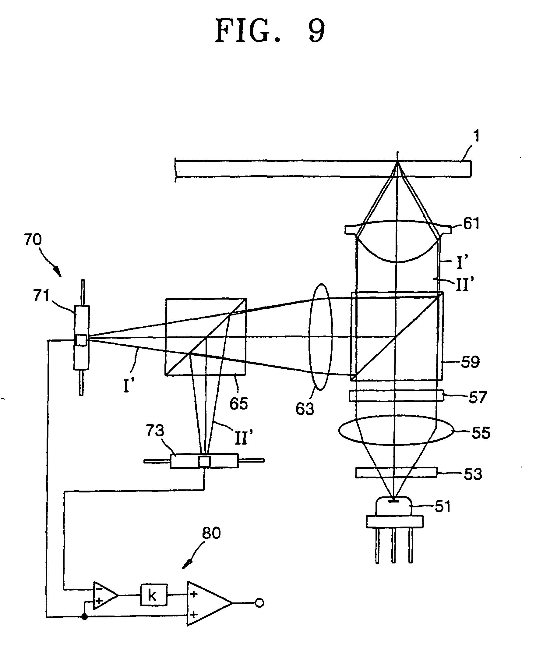 专利ep1115110b1 - dispositif à tête optique