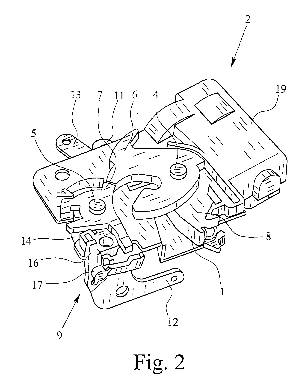patent ep1126106a1 kraftfahrzeug t rschloss mit kompaktem aufbau google patents. Black Bedroom Furniture Sets. Home Design Ideas