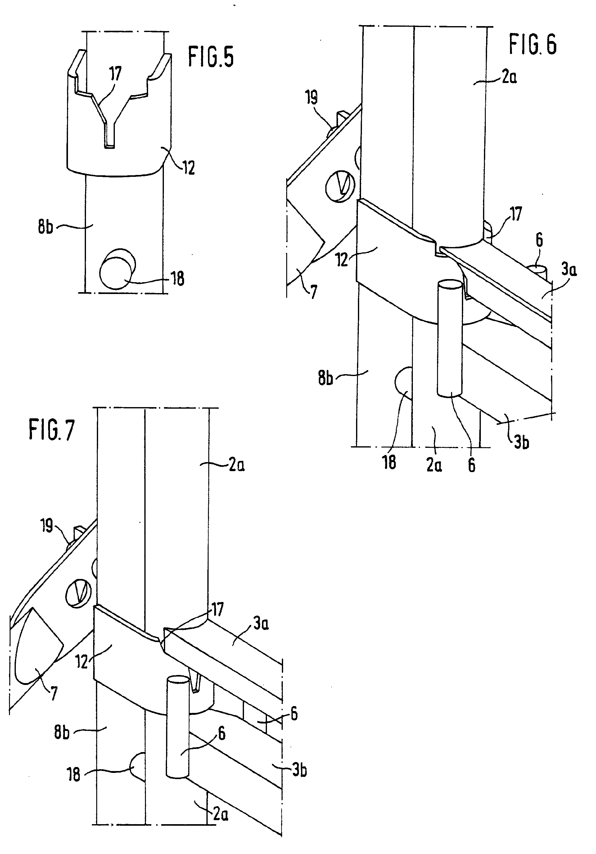 upright scaffold parts