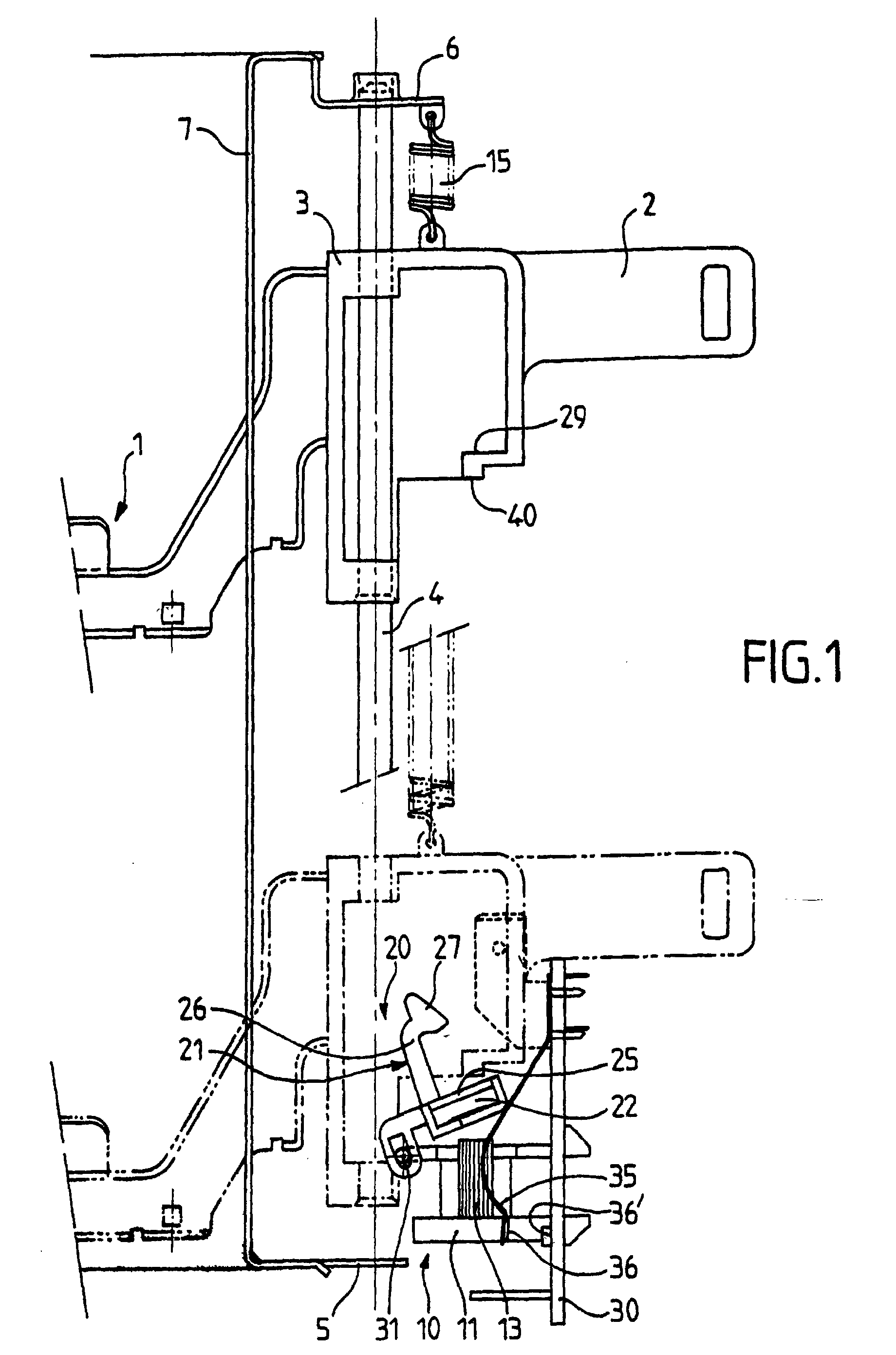 patent ep1135045b1 - electric toaster equipped with electromagnet  switch assembly
