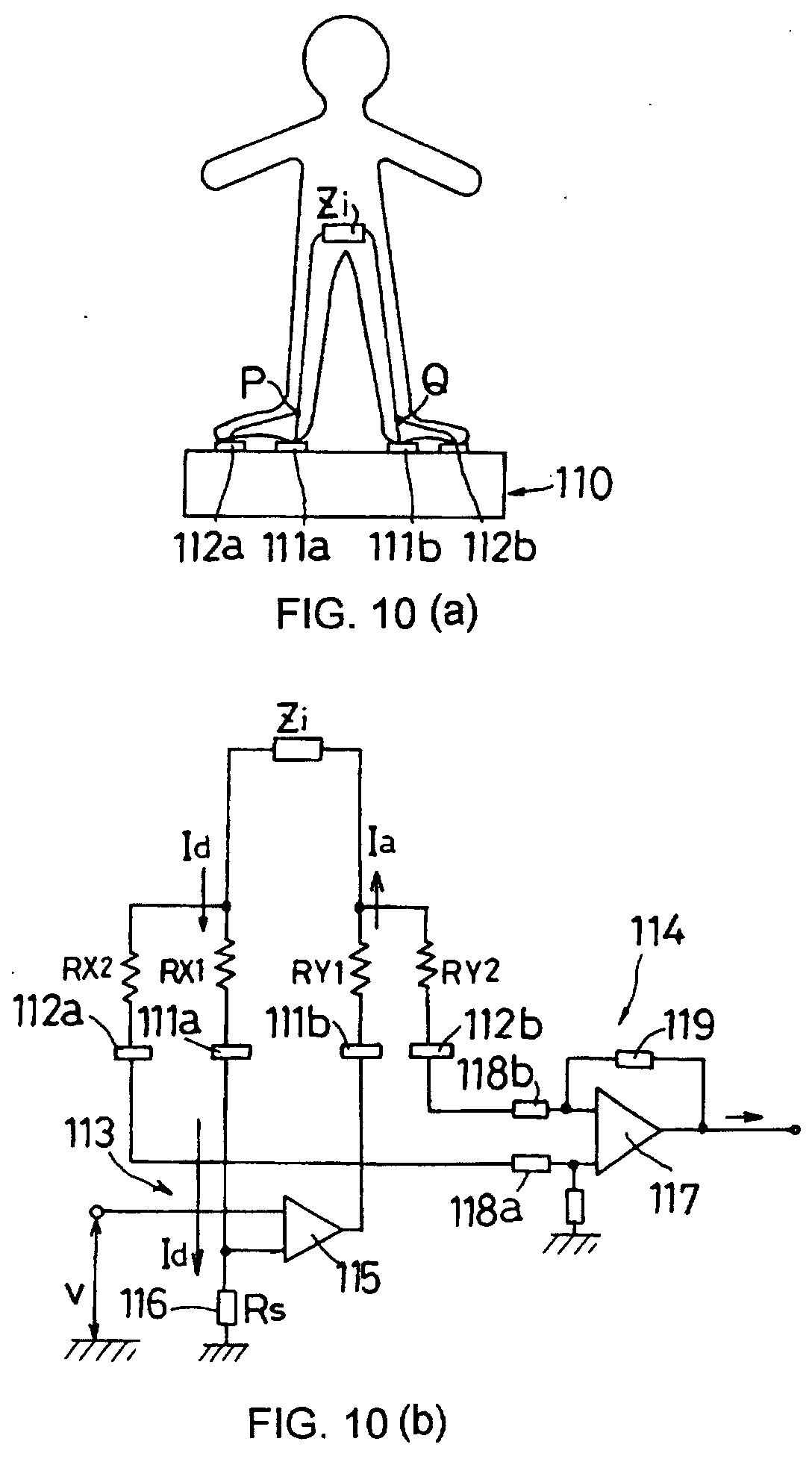 patent ep1138258a1 - body fat measuring instrument