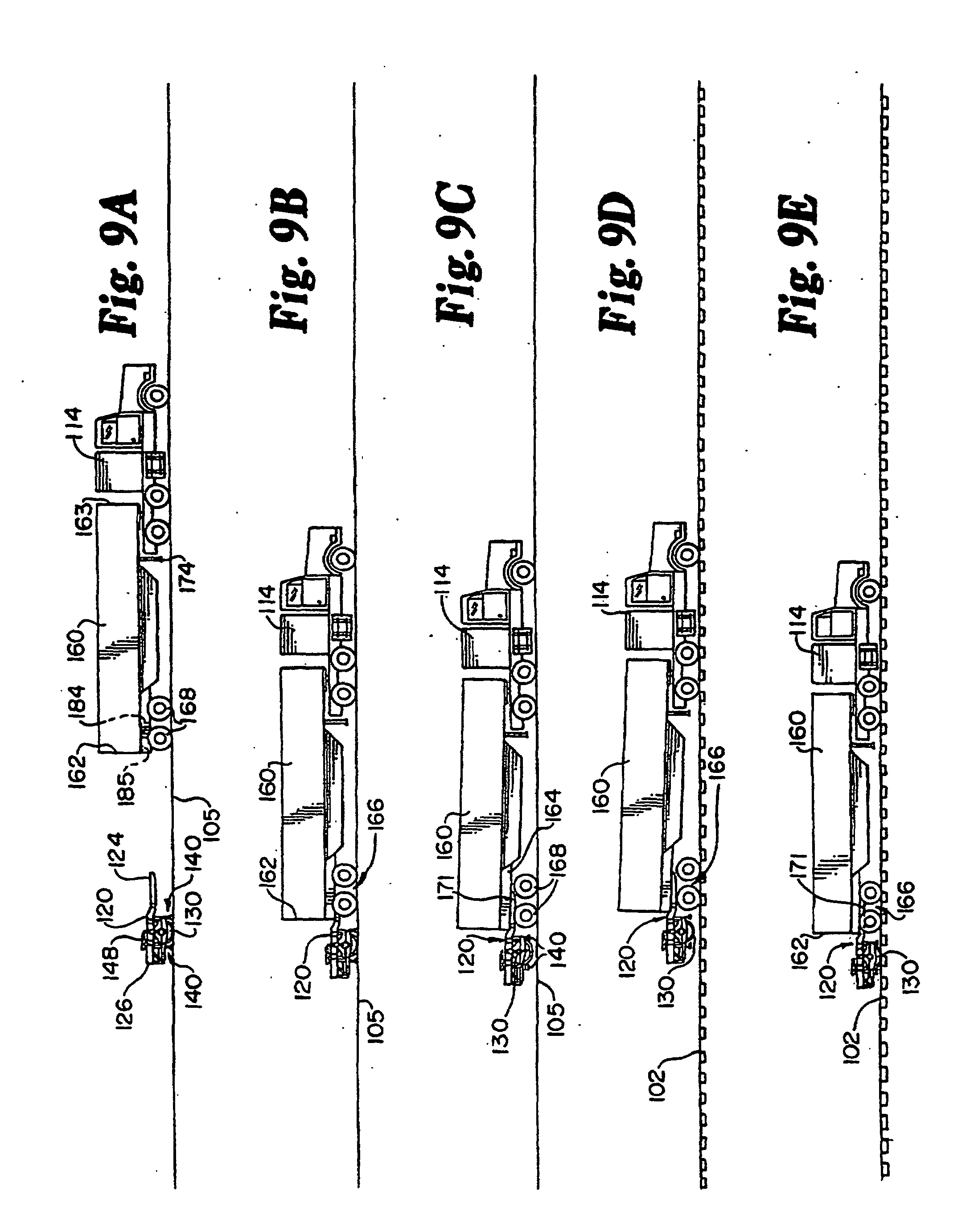 Vehicle Coupling System : Patent ep b bogie coupling system for convertible