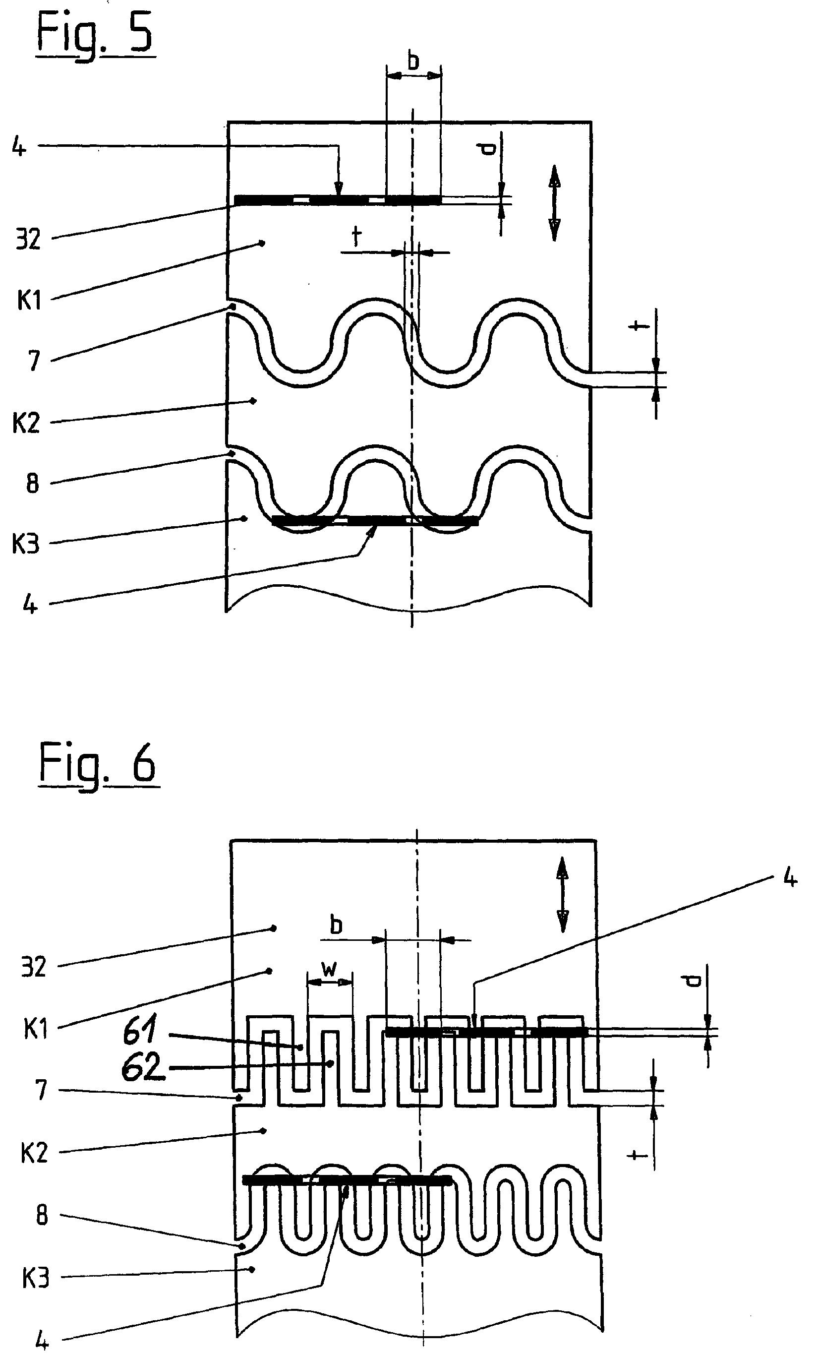 Patent EP1154442A2 - Variabler Widerstand und damit versehener ...