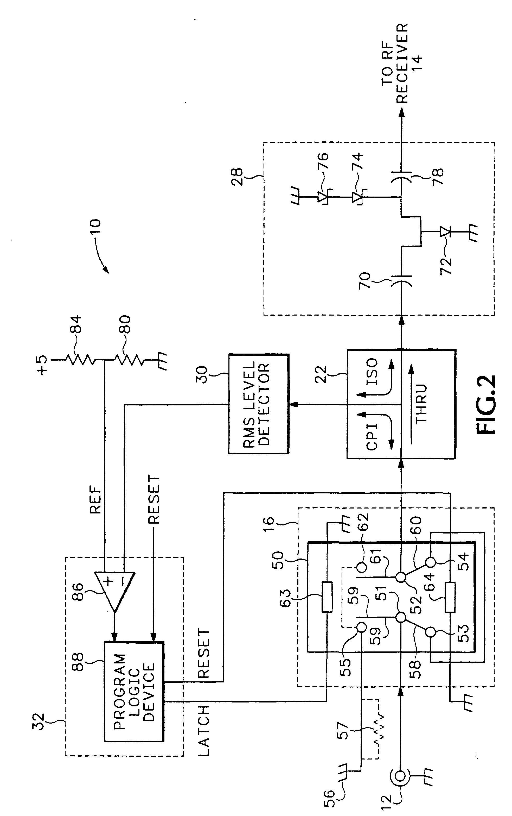 patent ep1154581b1 - input protection circuit for a radio frequency receiver