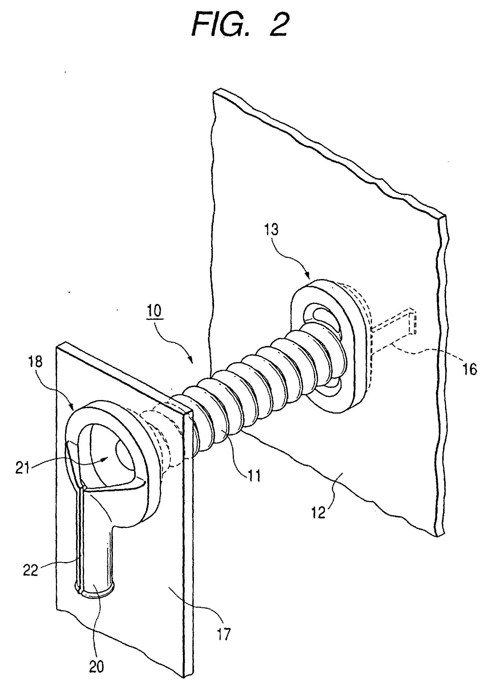 patent ep1157894b1 - bellows cable grommet
