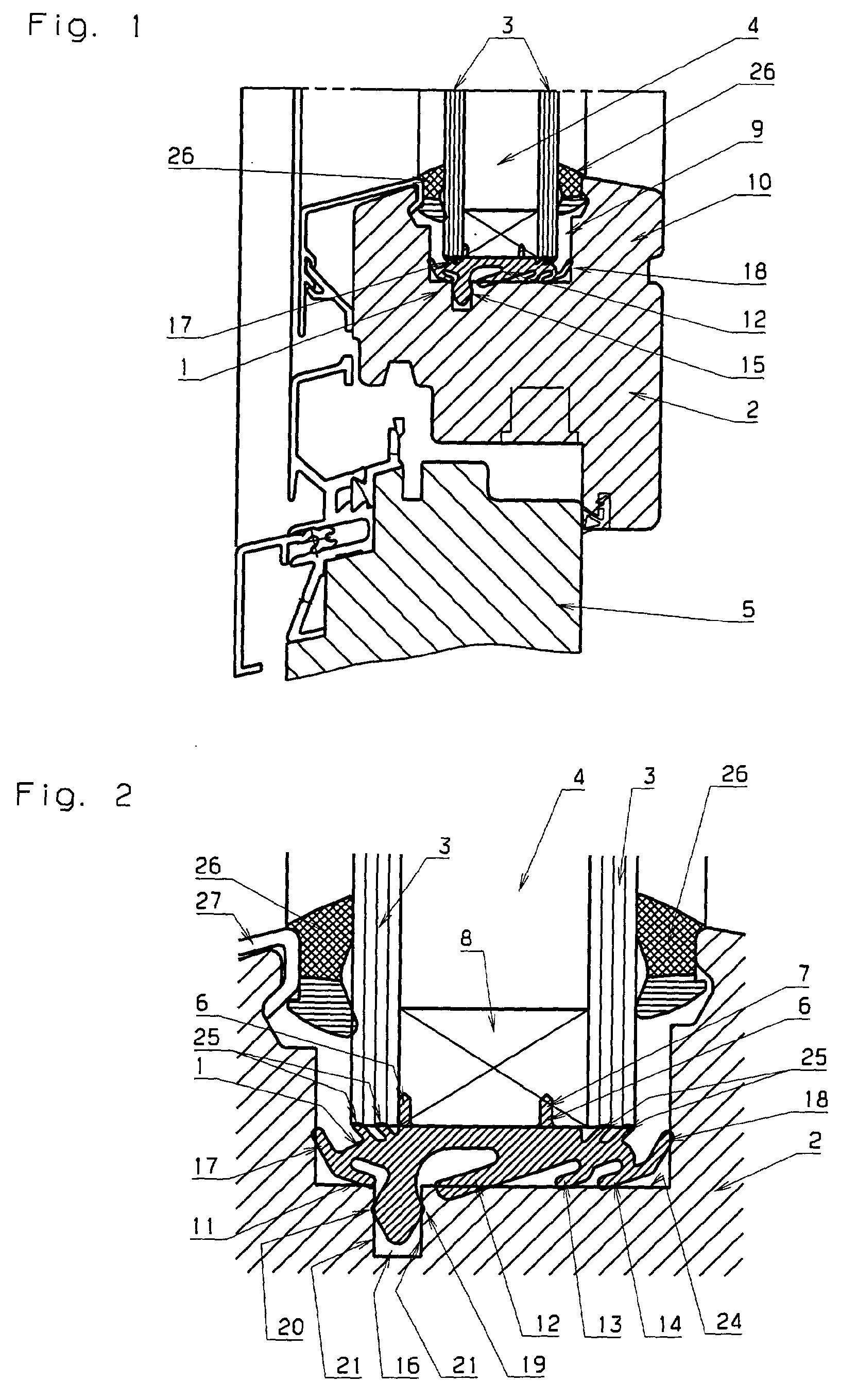 Patent ep1164248a2 abst tzelement f r aus zwei oder - Fenster beschlagen zwischen den scheiben ...