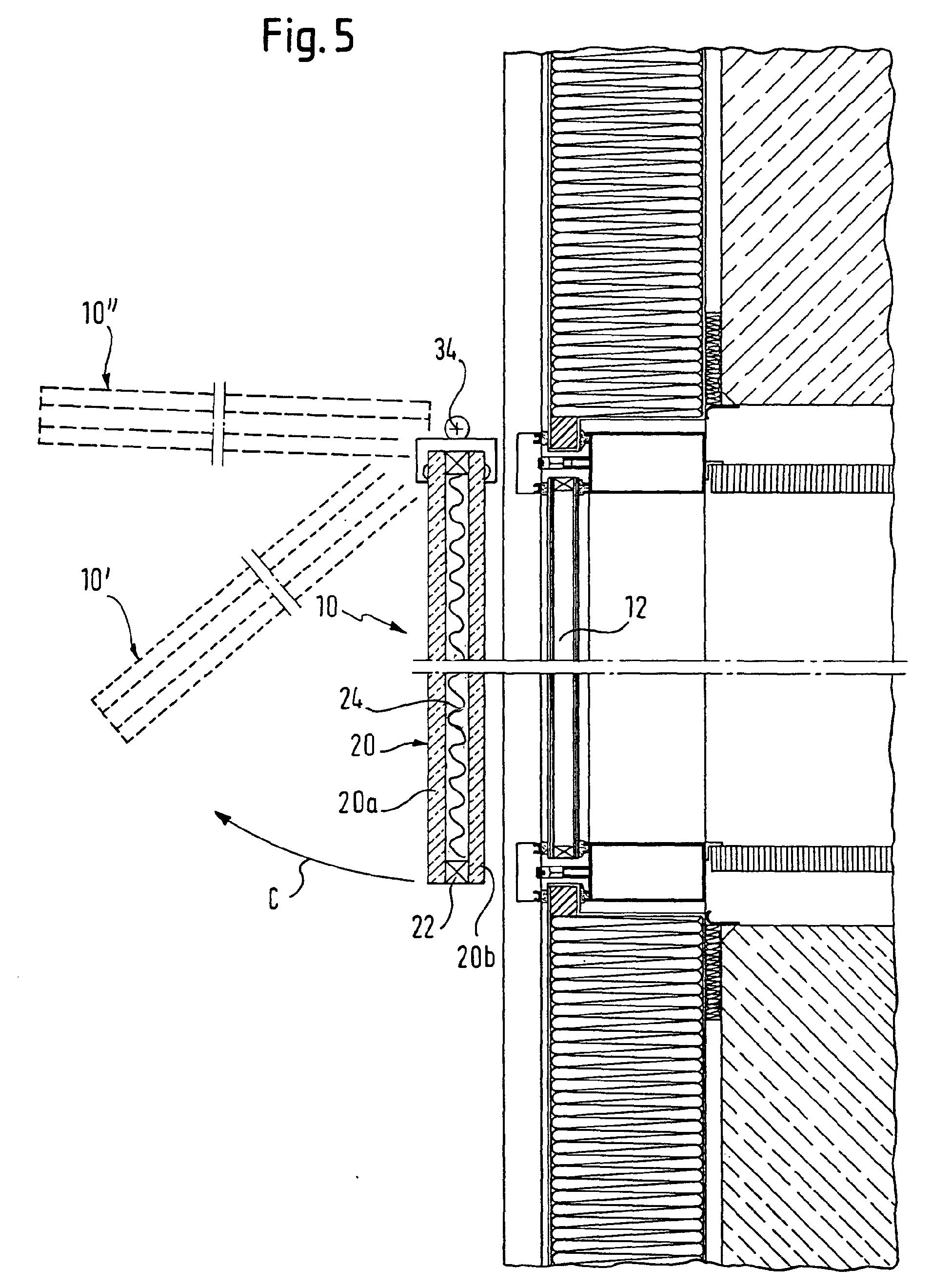 Fenster außen detail  Patent EP1172514A2 - Aussen liegender Sonnenschutz - Google Patents