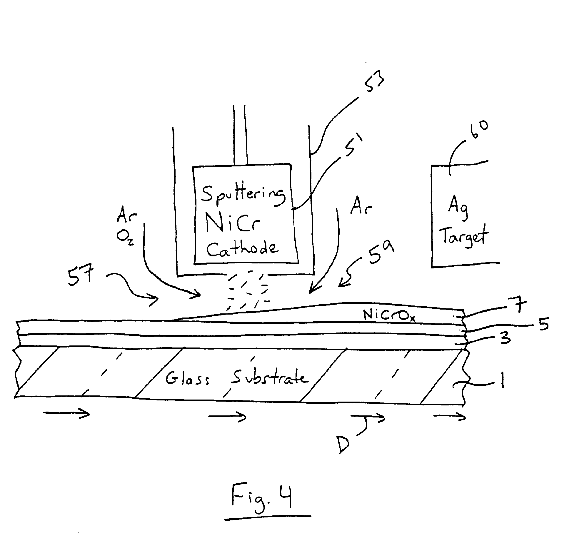 Illustration shows how windows with low e coatings reflect back part - Patent Drawing