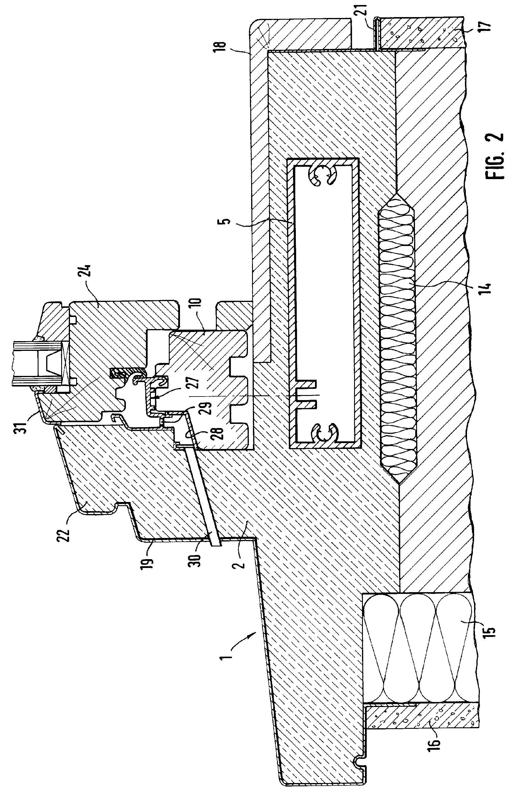 Patent ep1180573a2 zarge f r ein fenster oder eine t r - Fenster kompriband oder schaum ...