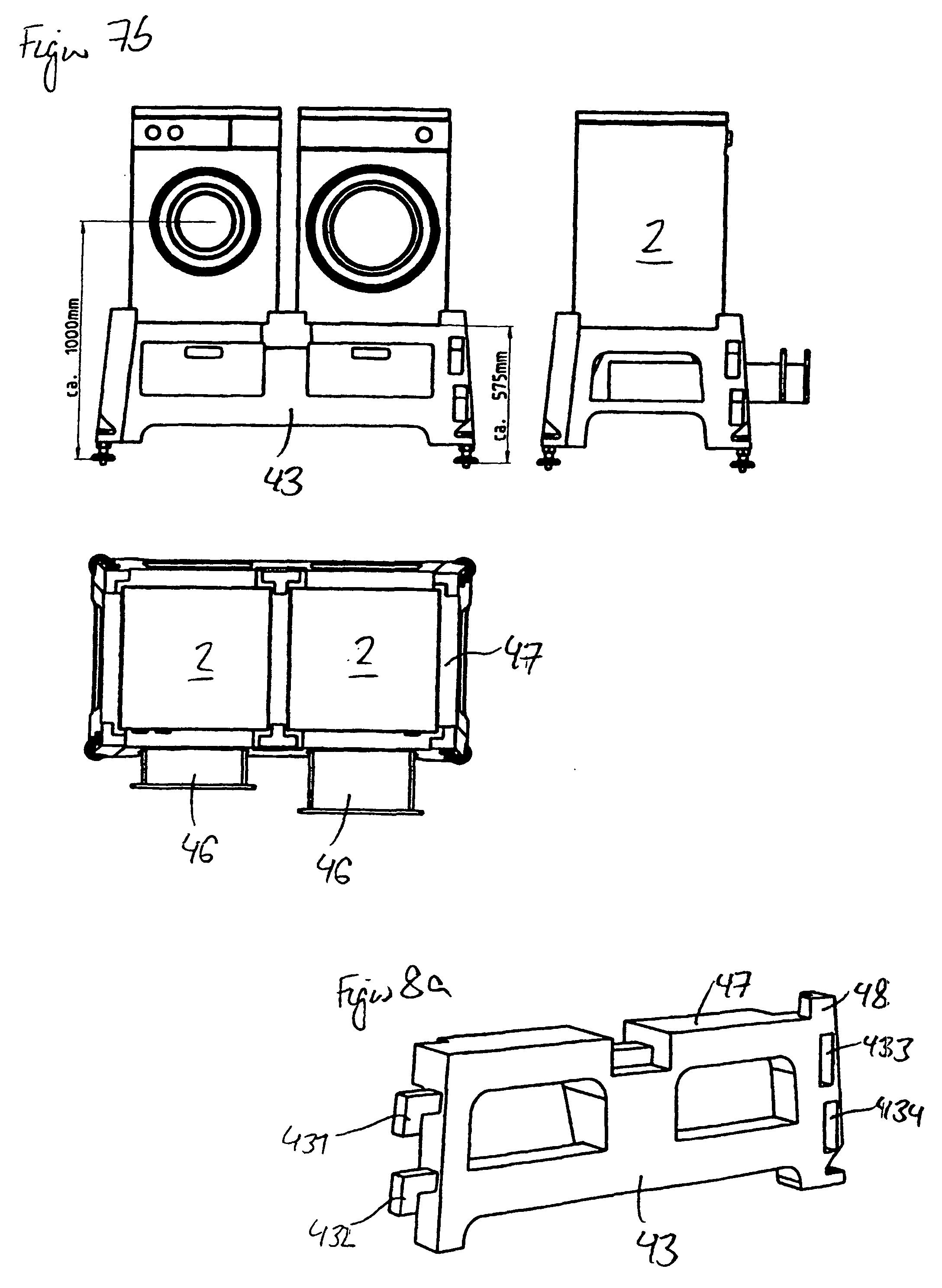 patent ep1205129b1 mehrteiliger sockel f r elektroger te insbesondere waschmaschinen google. Black Bedroom Furniture Sets. Home Design Ideas