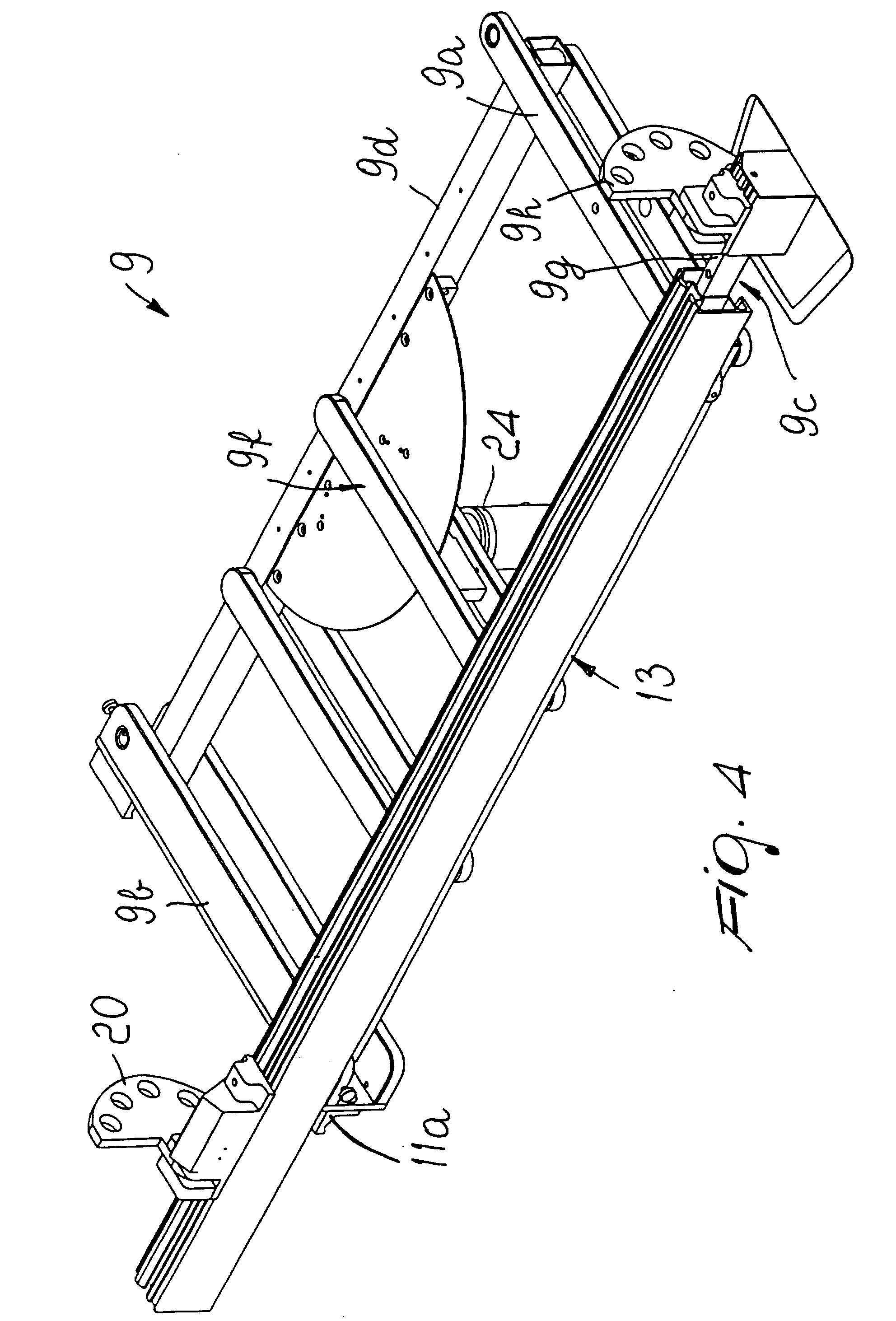 Panel Saw Drawing Patent Drawing