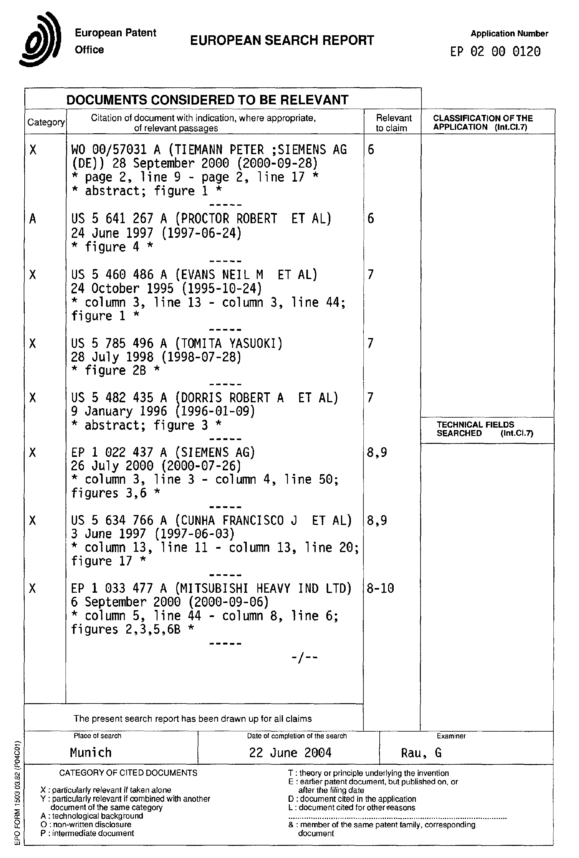 Patent EP A3 Sealing for shrouds of a gas turbine Google