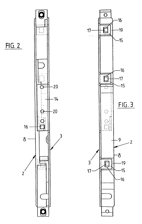 专利ep1225289a2 - schlosskasten