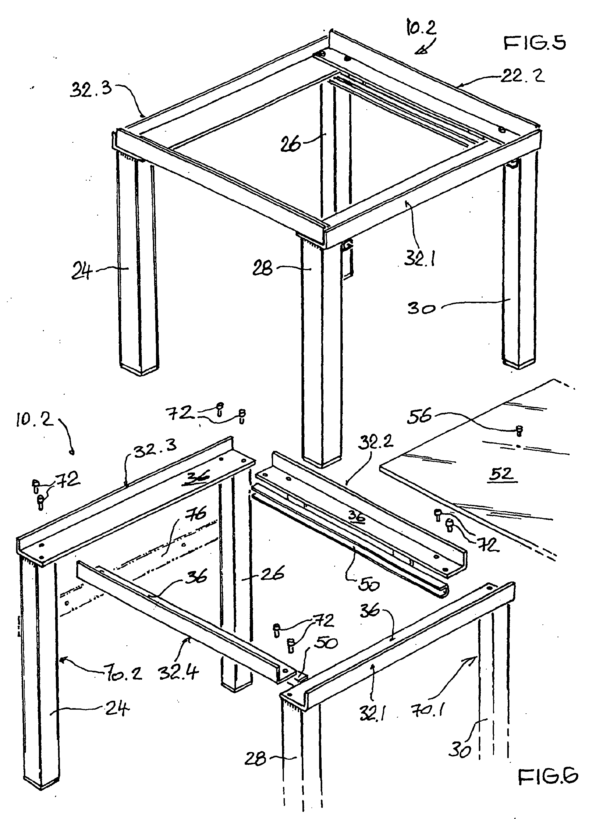 patent ep1227182a2 untergestell f r eine waschmaschine google patents. Black Bedroom Furniture Sets. Home Design Ideas