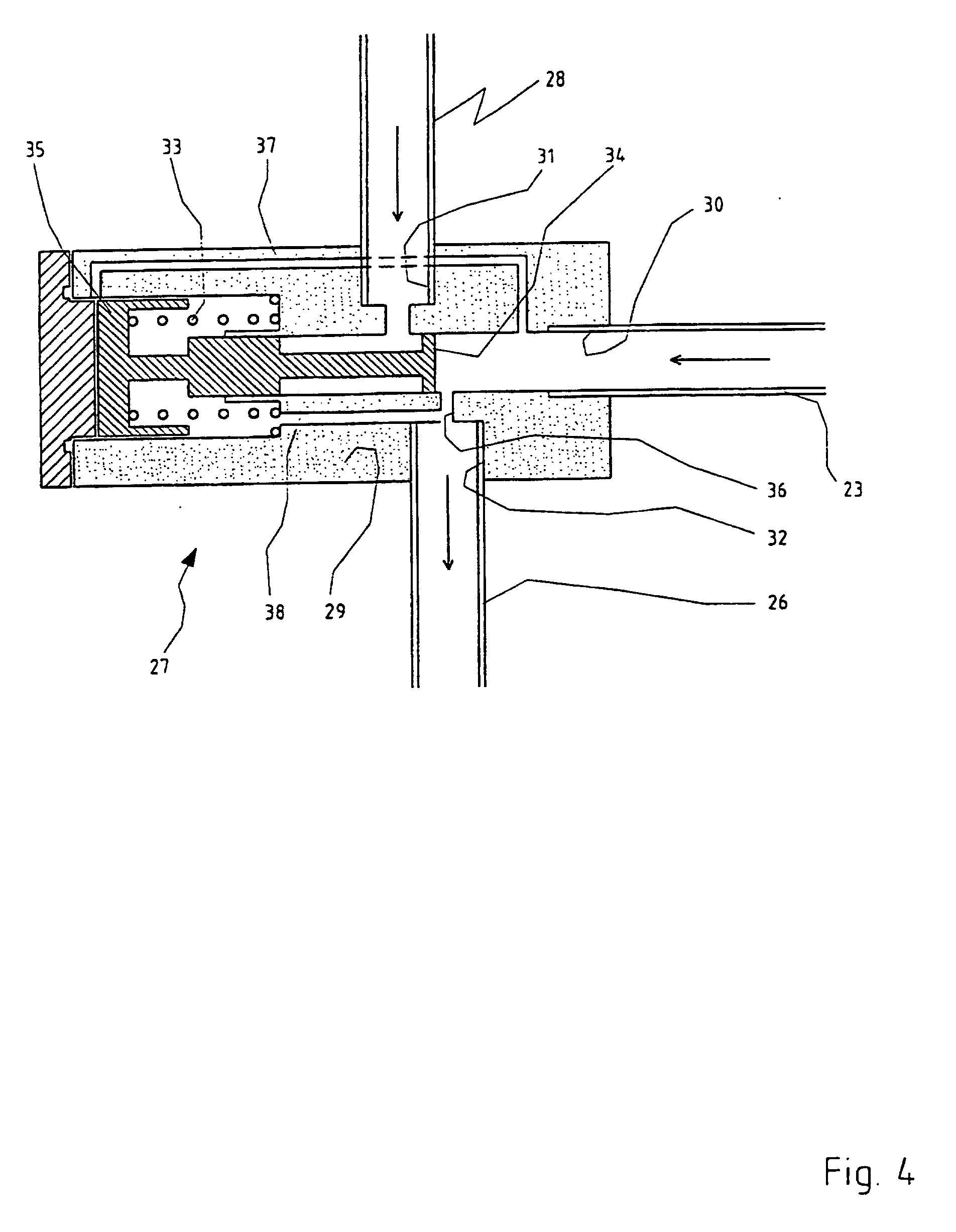 patent ep1230520b1 - draw-off conduit for hot-water