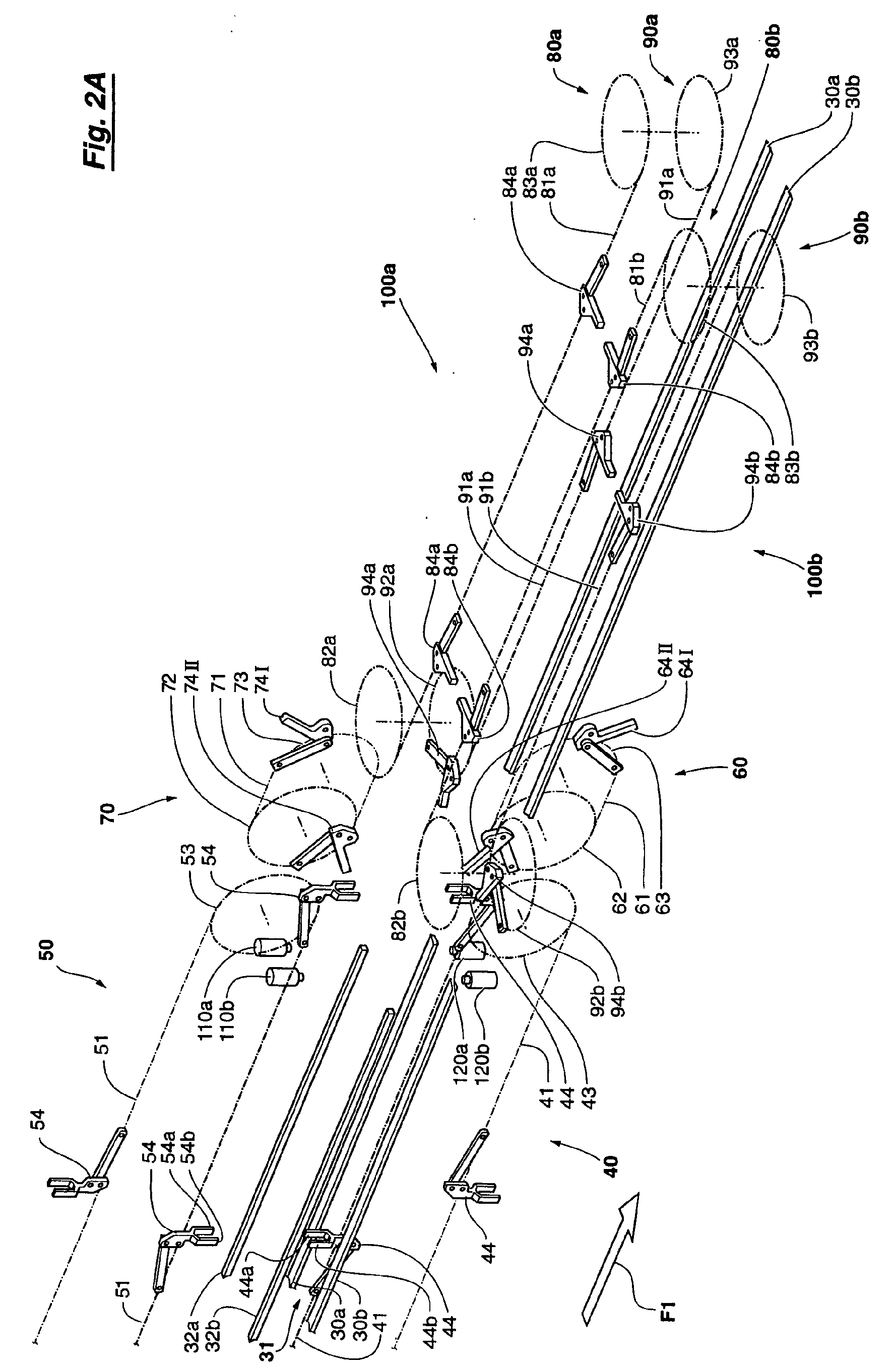Patent EP1231147A1 - Method and system for closure of the flaps of ...