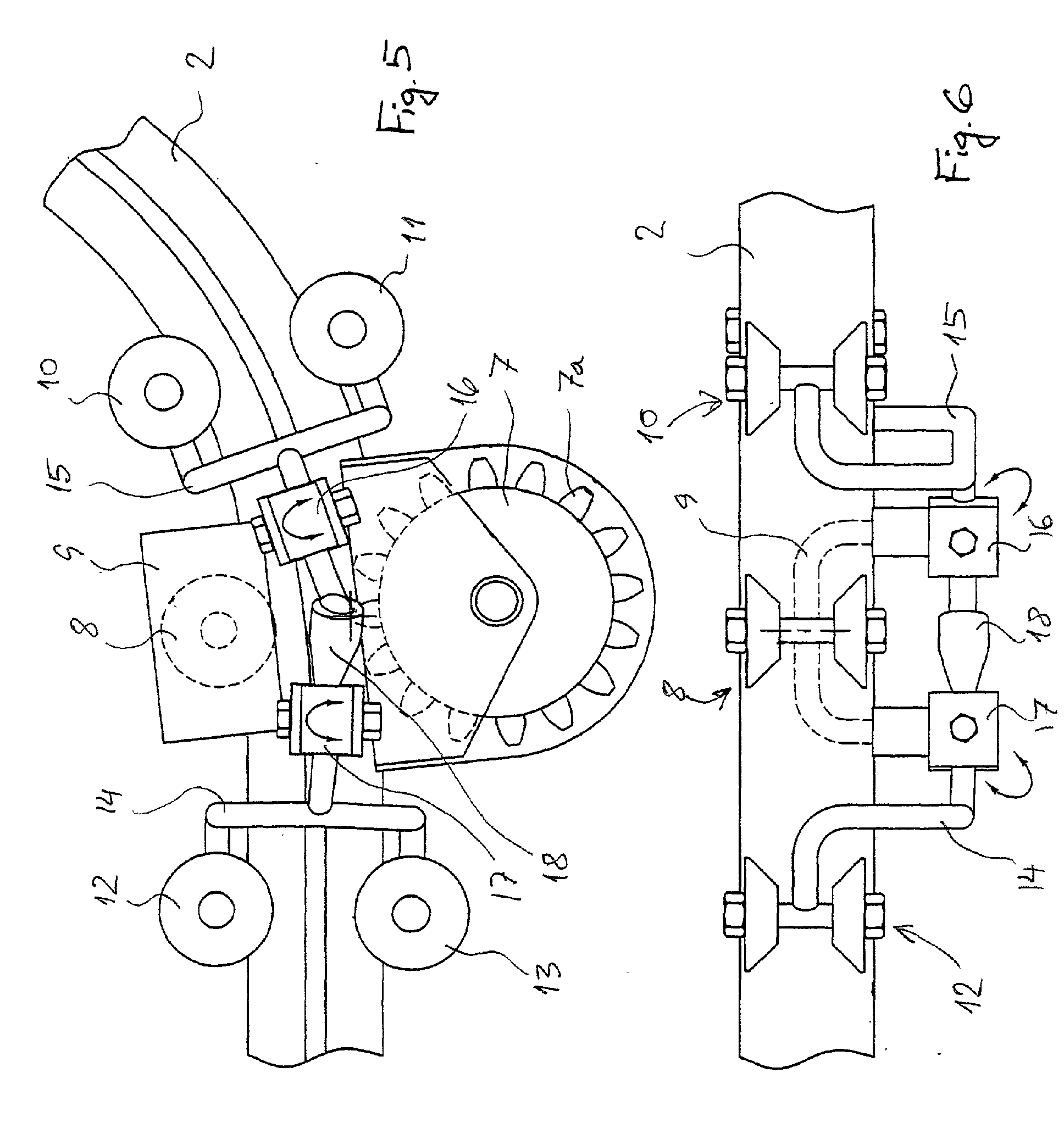 Patent Ep1236671a1 Driving Mechanism For A Stairlift