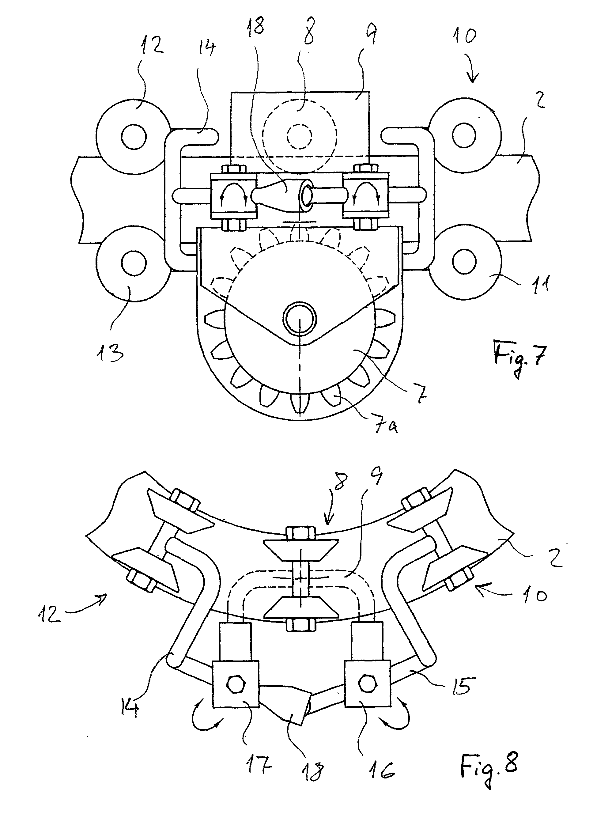 Three Point Mechanism : Patent ep a driving mechanism for stairlift