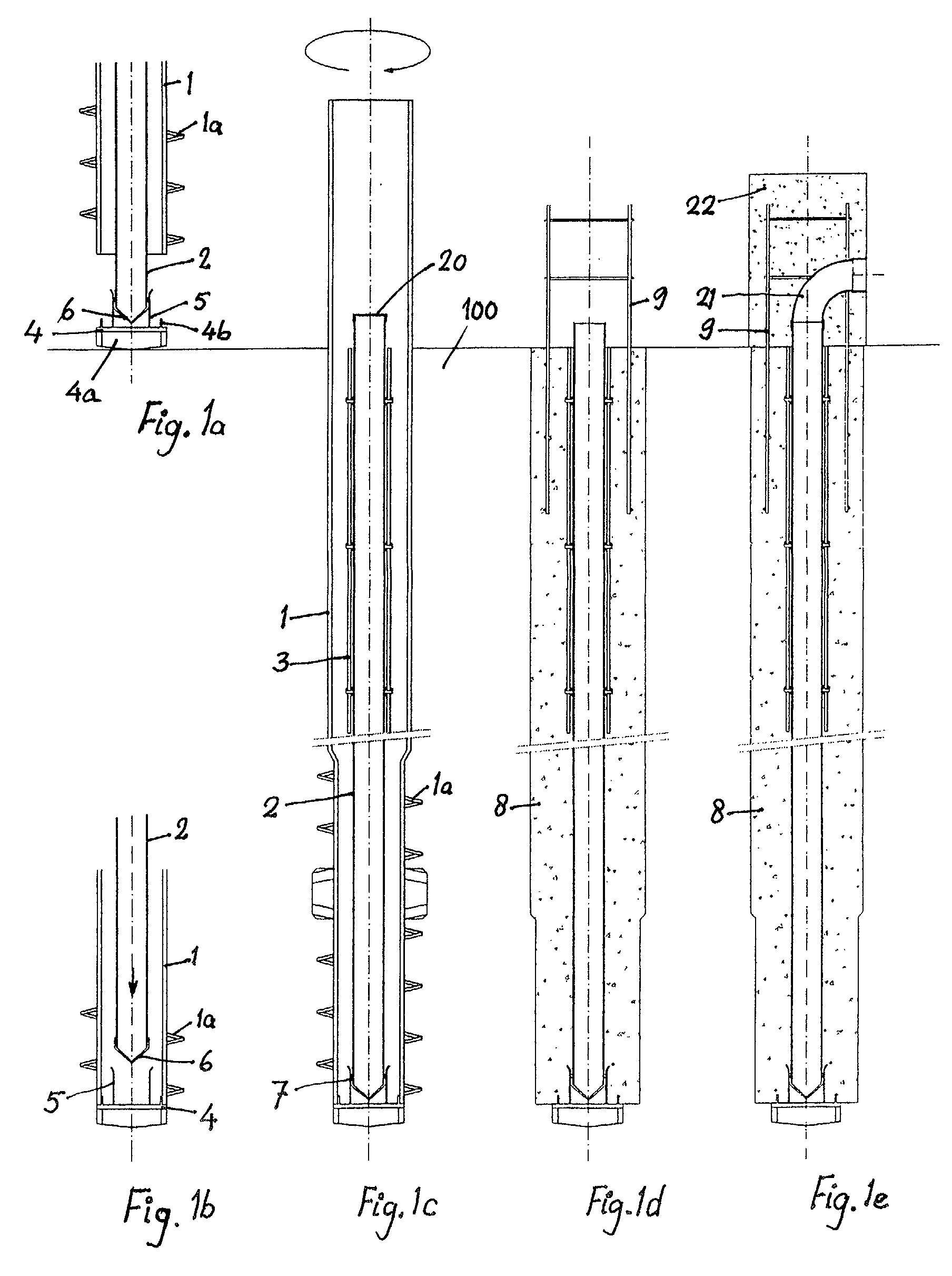 Pile Foundation Drawing : Patent ep a method for manufacturing concrete