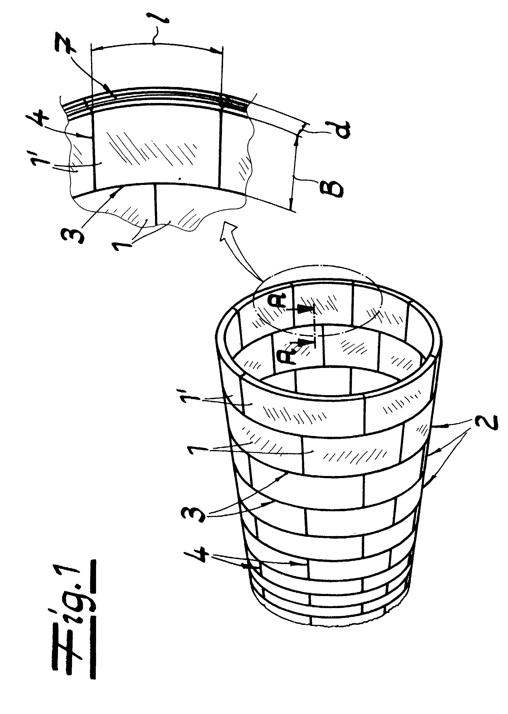 Patent ep1243752a1 t bbing f r einen tunnelausbau for Stahlwandbecken 2 m durchmesser
