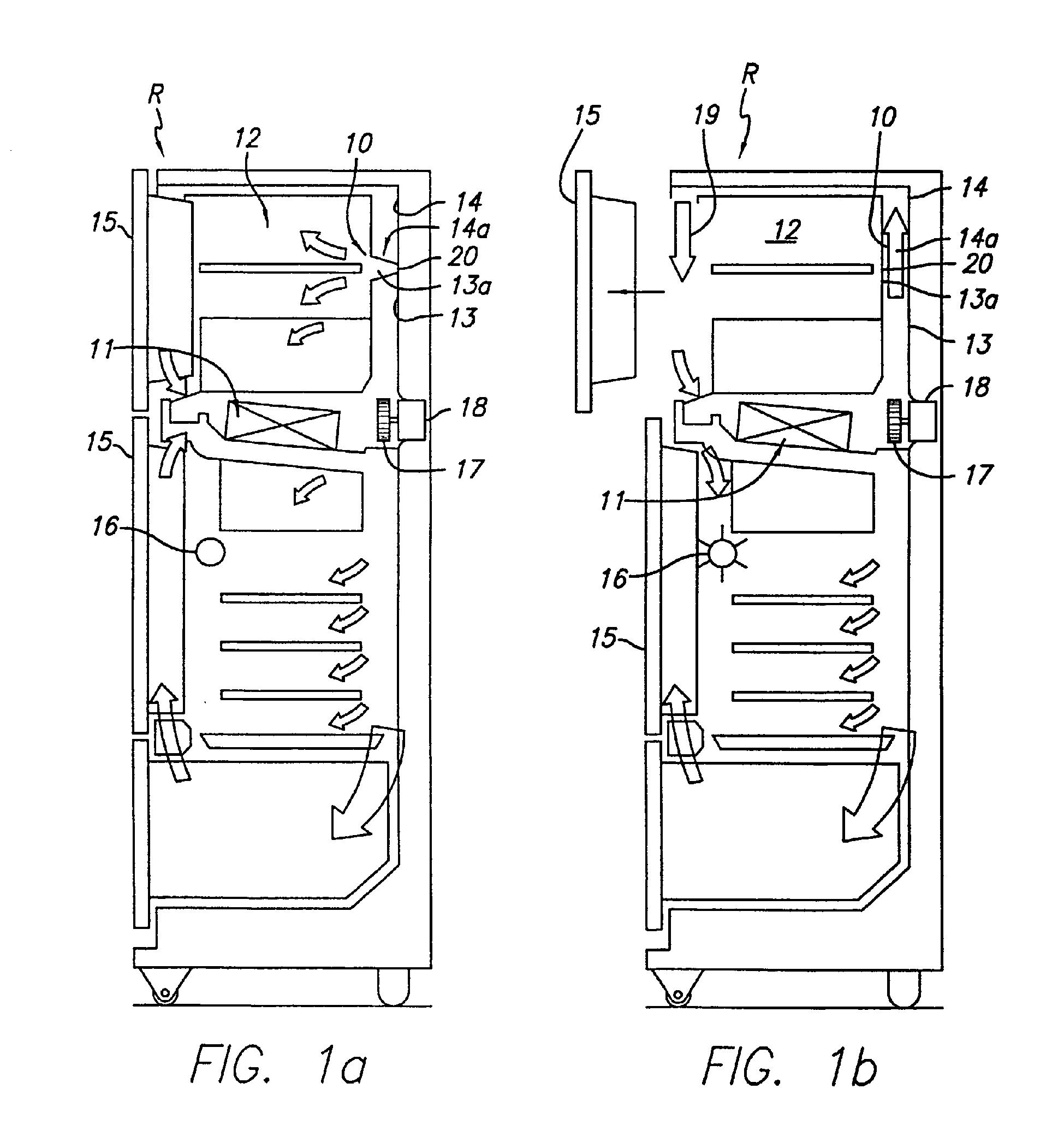 damper door refrigerator  u0026 refrigerator d u0026er assembly  part  wr49x10091  - how to replace