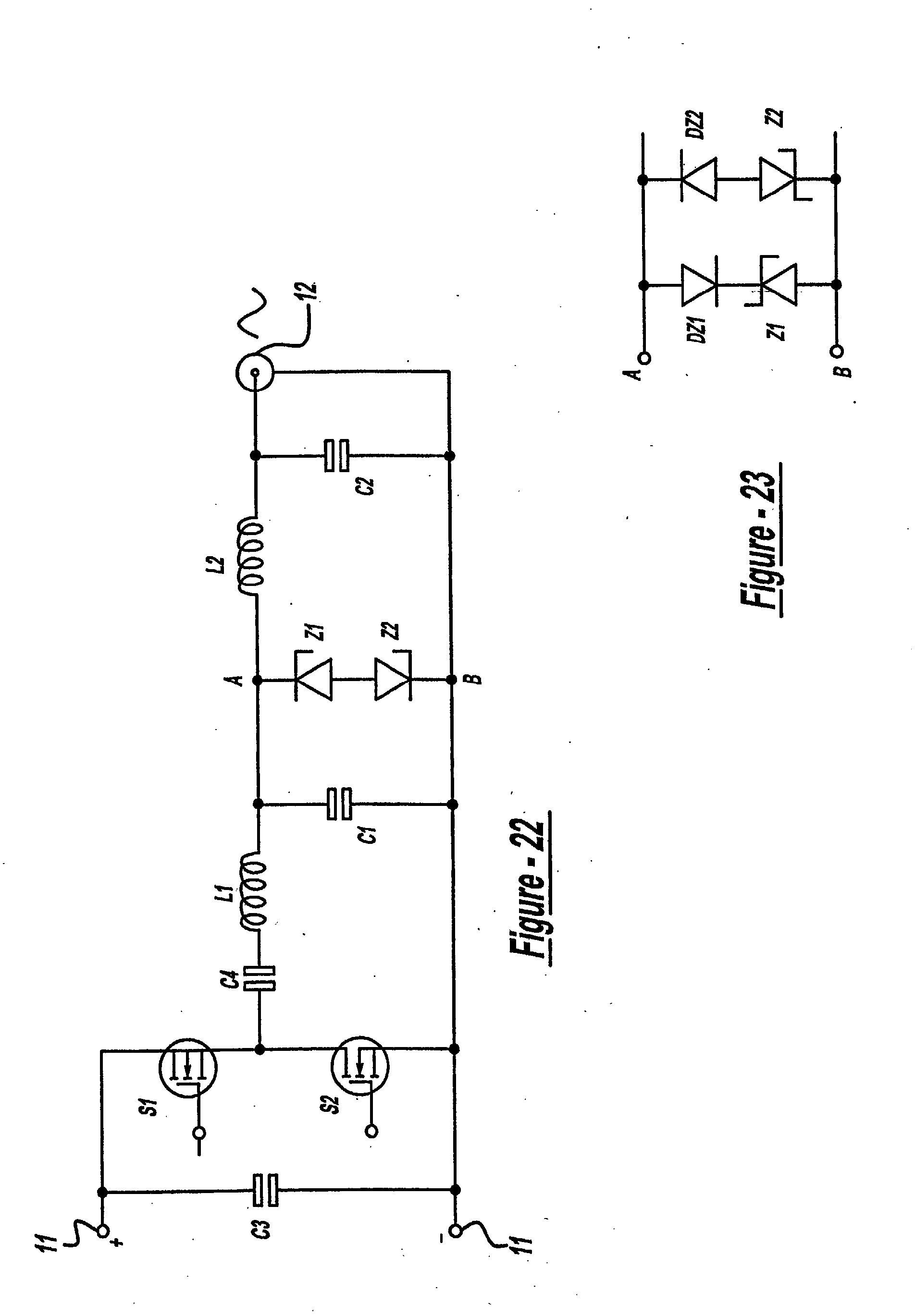 patent ep1272014a1 - plasma power supply having a protection circuit