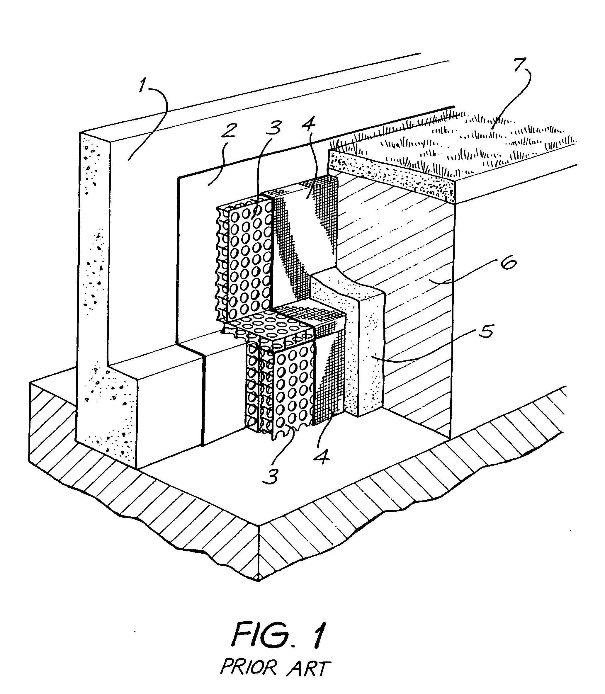 Subsoil Drainage System : Patent ep b structural modular interconnectable
