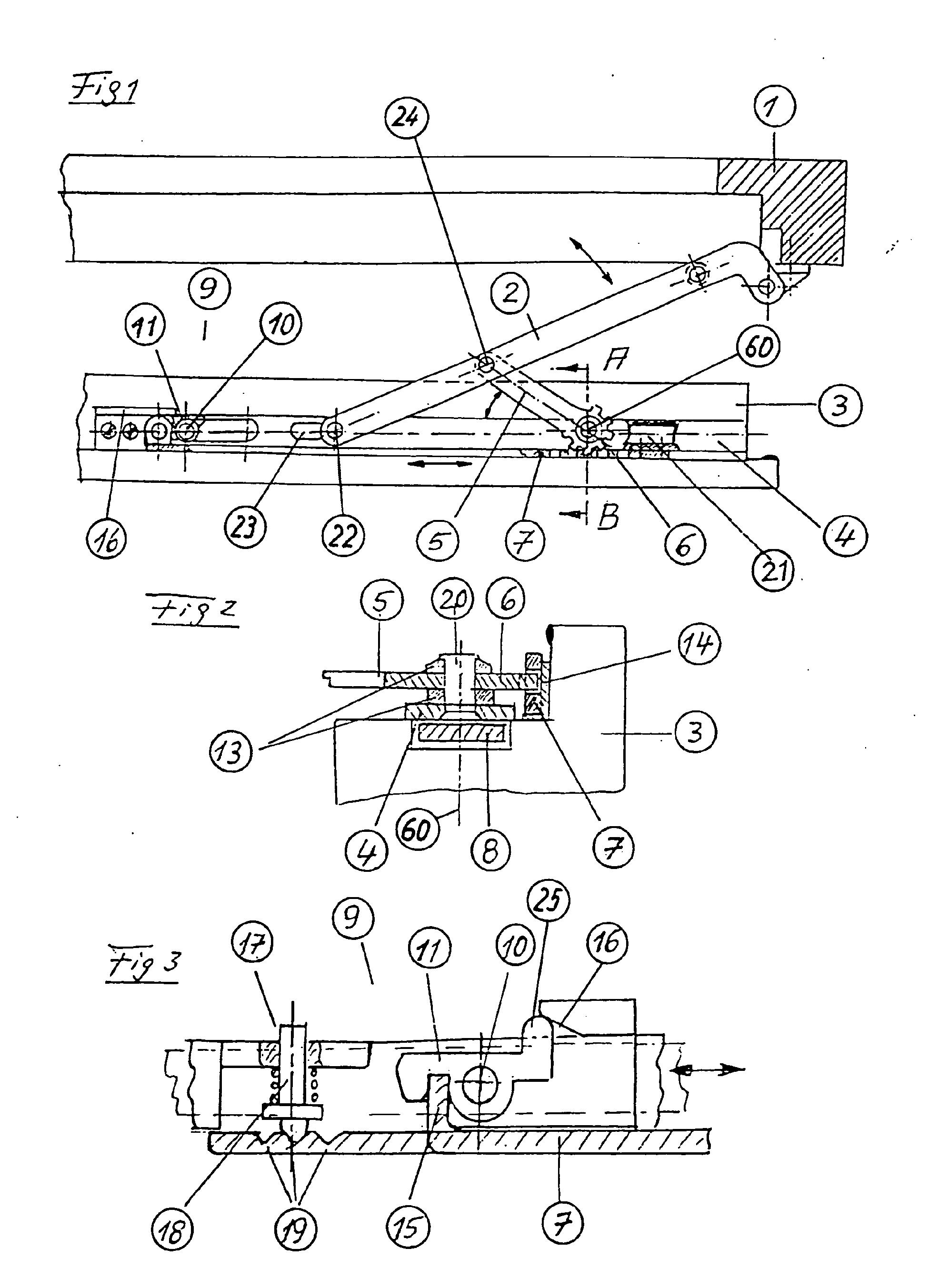 Patent Ep1288418b1 Ferrure Pour Une Fen Tre Basculante Ou Oscillo Battante Google Patents