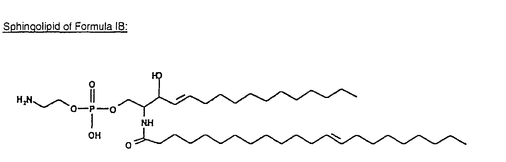 Example 3  Isolation and characterization of sphingolipids from    Sphingolipid Structure