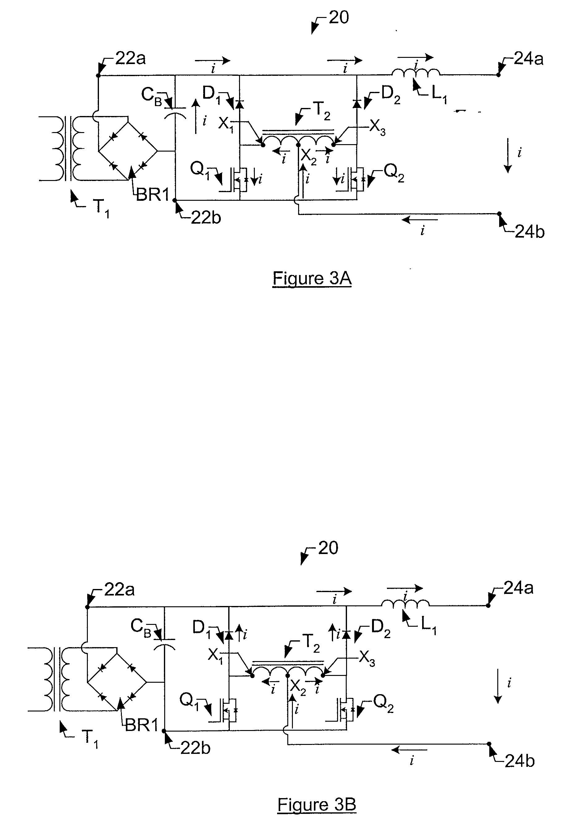 patent ep1294086a2 - buck regulator circuit for use in a power supply