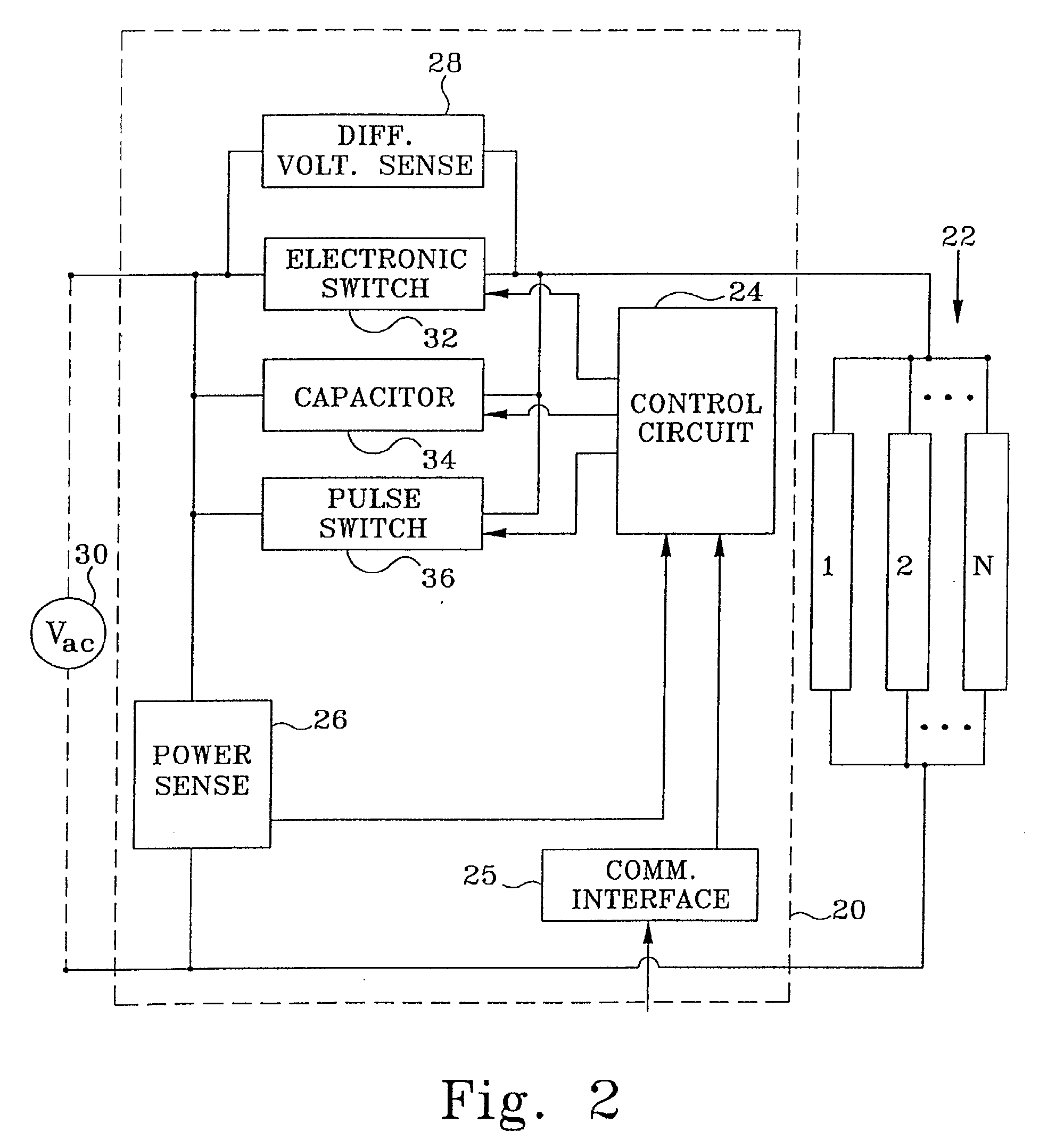 Patent Ep1300935a2 Energy Saving Power Control System Google Patents Ac Switch With Optotriaccircuit Diagram Drawing
